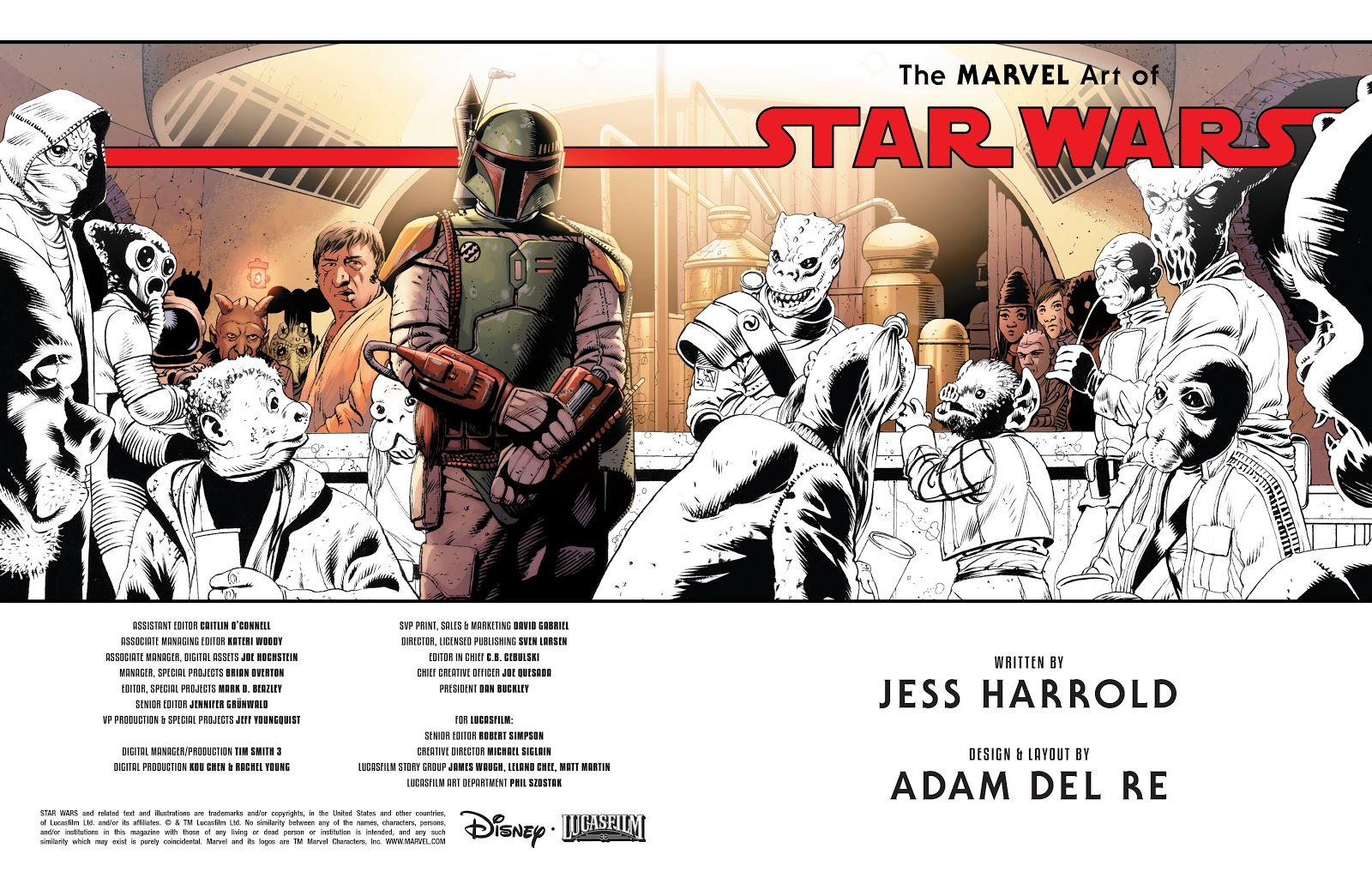 Read online The Marvel Art of Star Wars comic -  Issue # TPB (Part 1) - 3