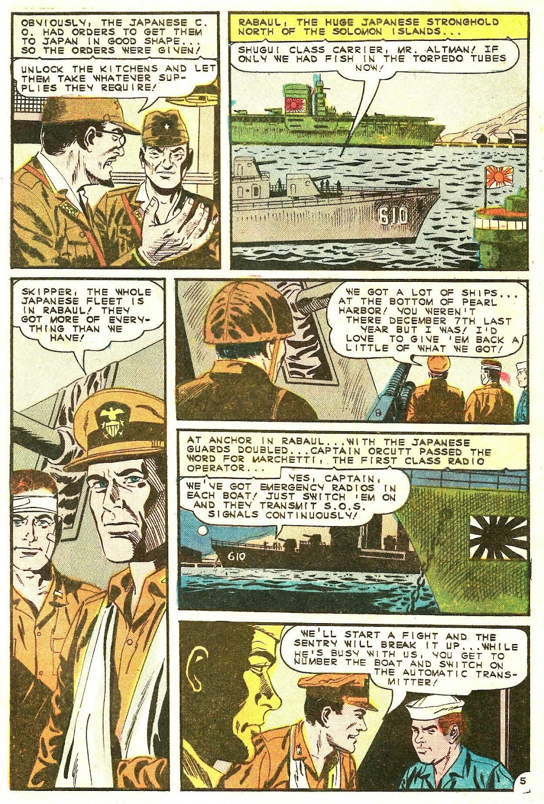 Read online Fightin' Navy comic -  Issue #123 - 9