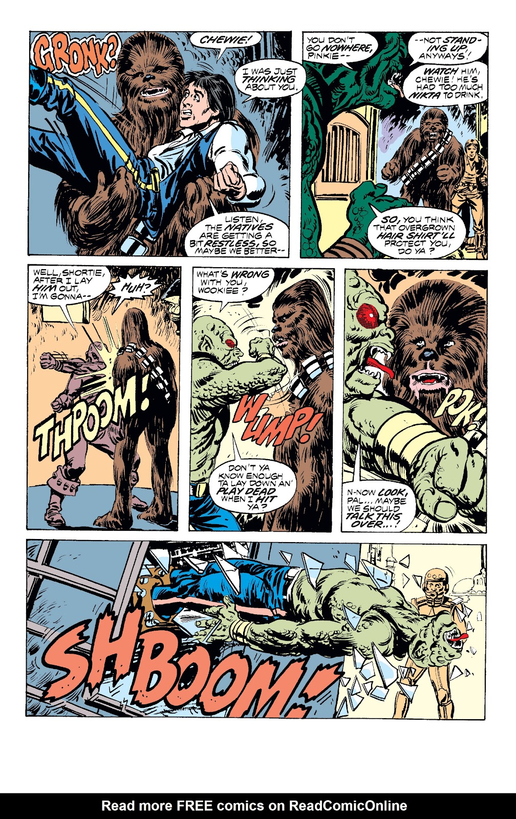 Read online Star Wars Legends: The Original Marvel Years - Epic Collection comic -  Issue # TPB 1 (Part 2) - 39