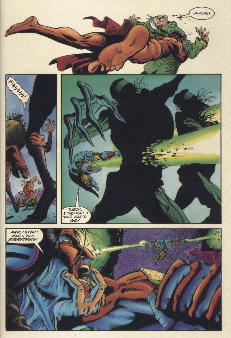 Read online Turok, Dinosaur Hunter (1993) comic -  Issue #19 - 18