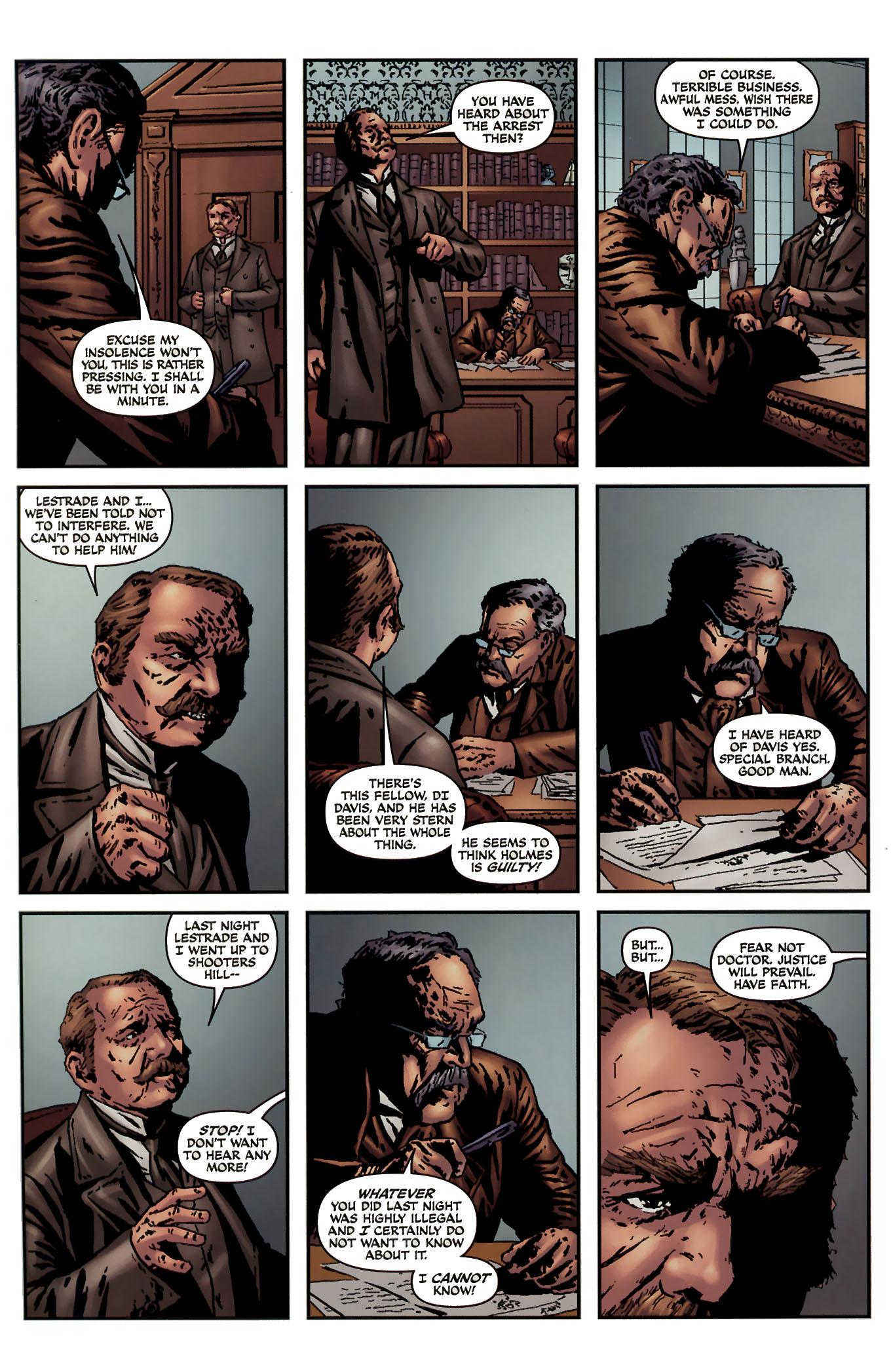 Read online Sherlock Holmes (2009) comic -  Issue #3 - 26