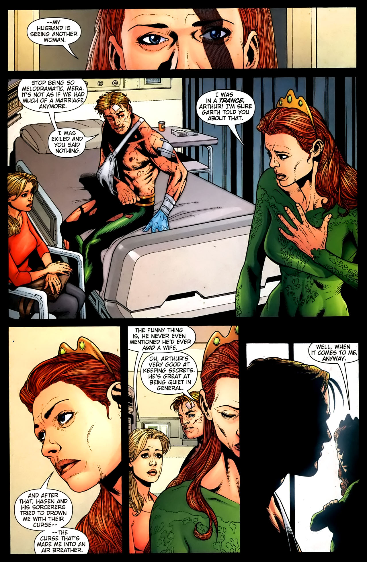 Read online Aquaman (2003) comic -  Issue #36 - 5