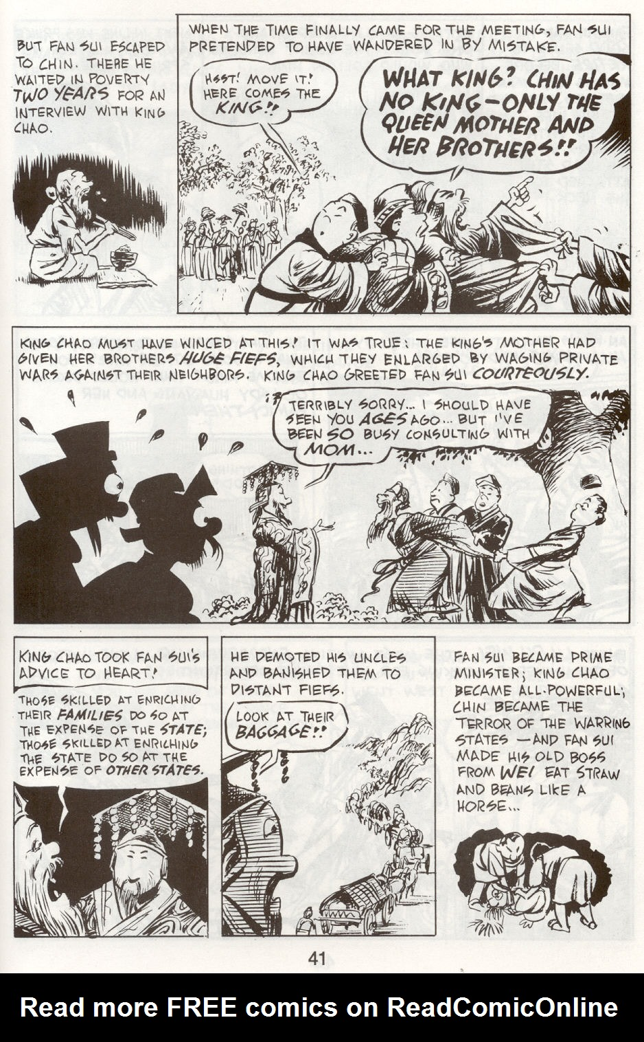 Read online The Cartoon History of the Universe comic -  Issue #9 - 44