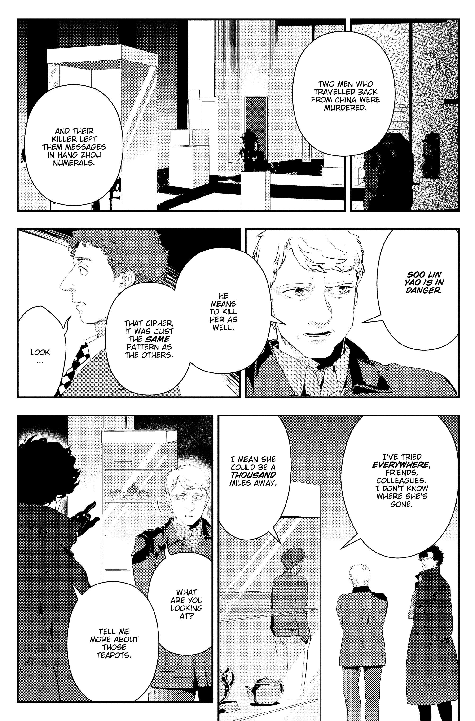 Read online Sherlock: The Blind Banker comic -  Issue #4 - 15