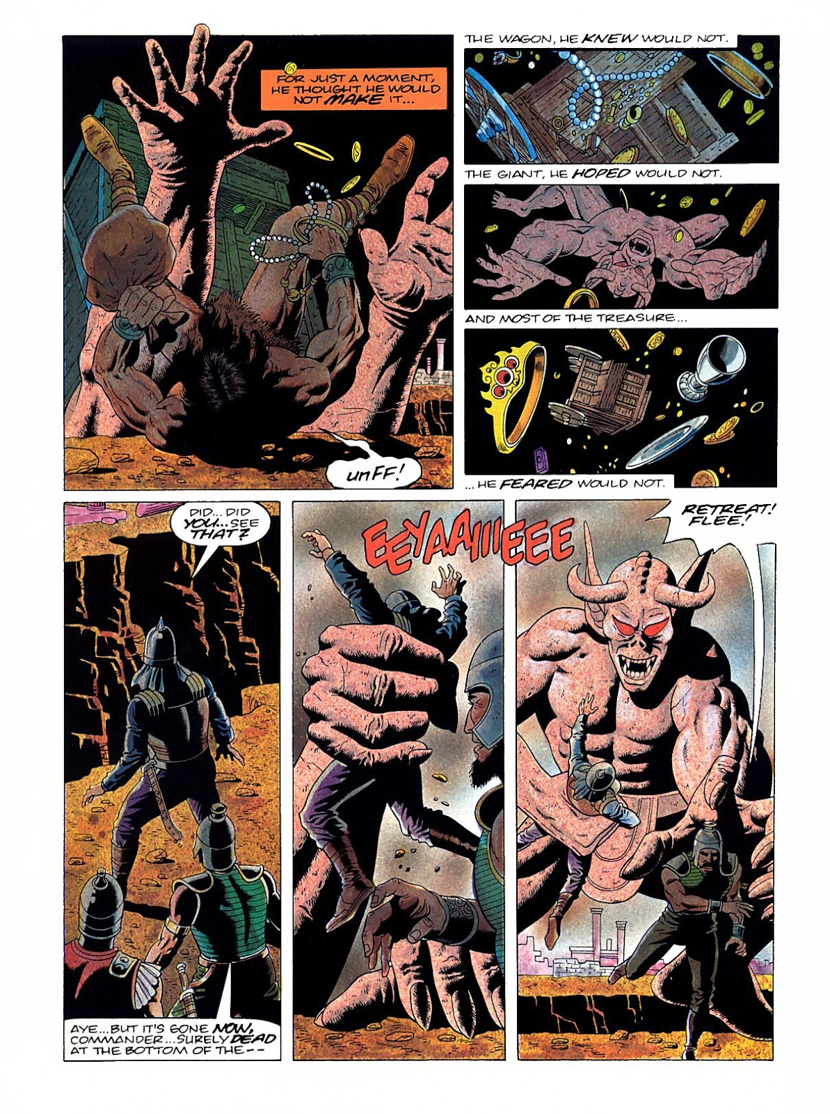 Read online Marvel Graphic Novel: Conan the Barbarian: The Skull of Set comic -  Issue # Full - 54
