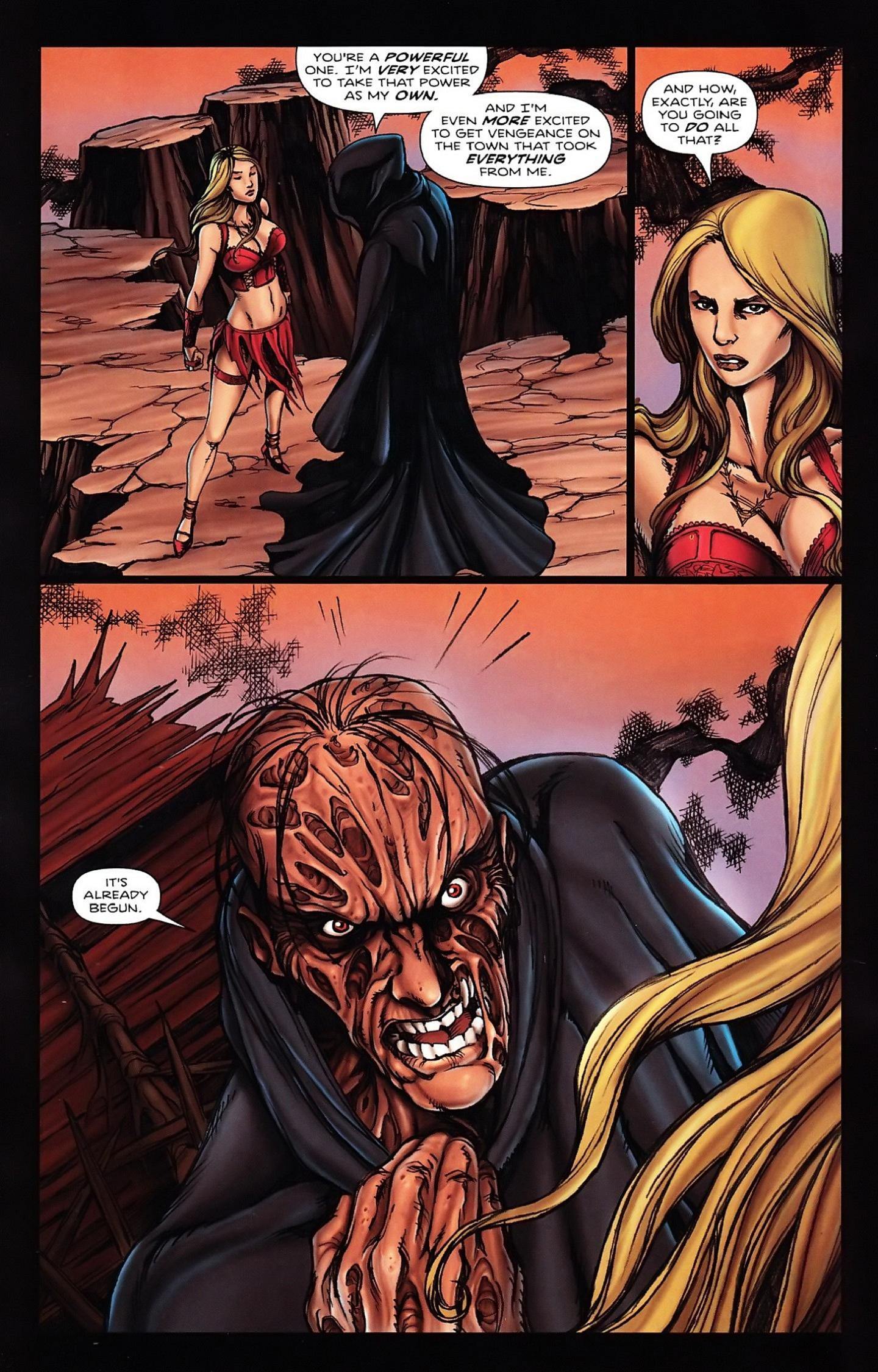 Read online Salem's Daughter: The Haunting comic -  Issue #5 - 8