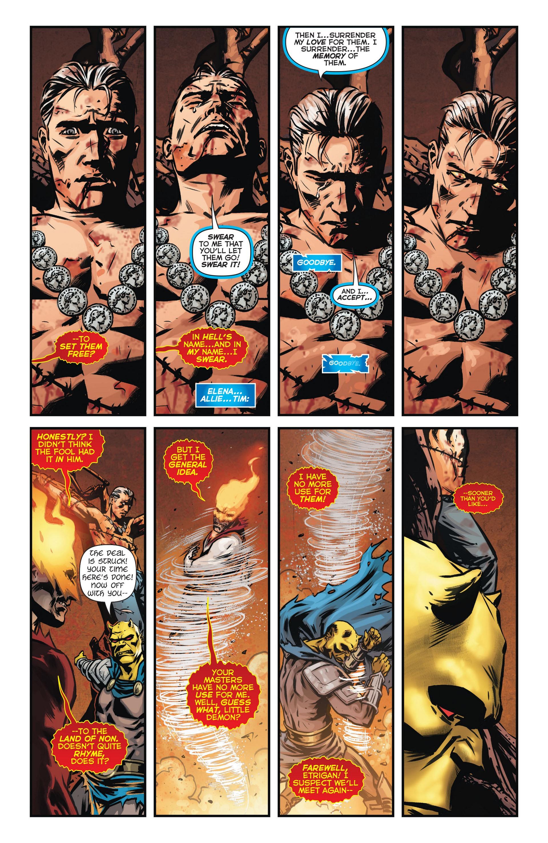 Read online Trinity of Sin: The Phantom Stranger comic -  Issue #9 - 19