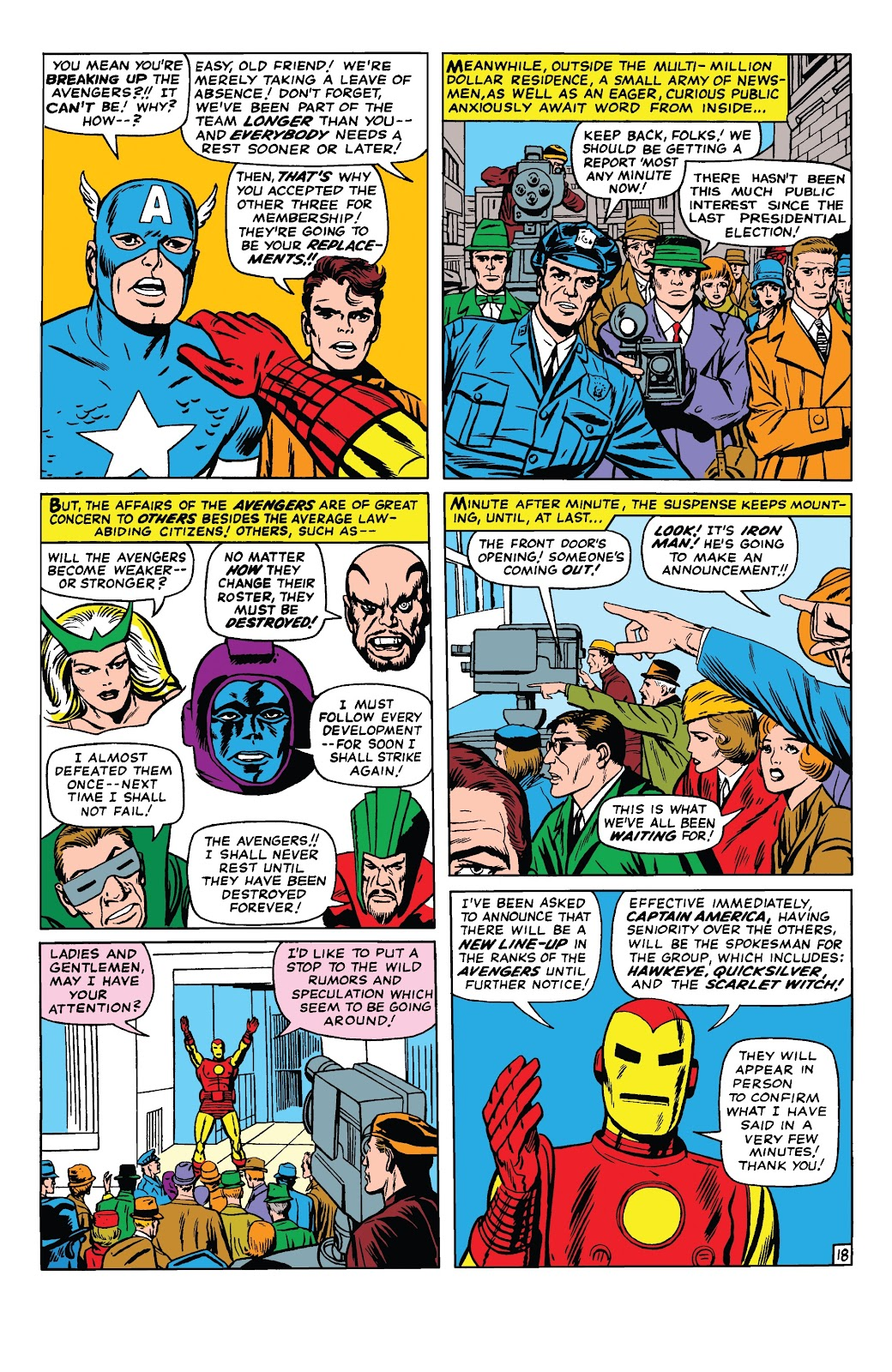Read online Marvel Tales: Avengers comic -  Issue # Full - 23