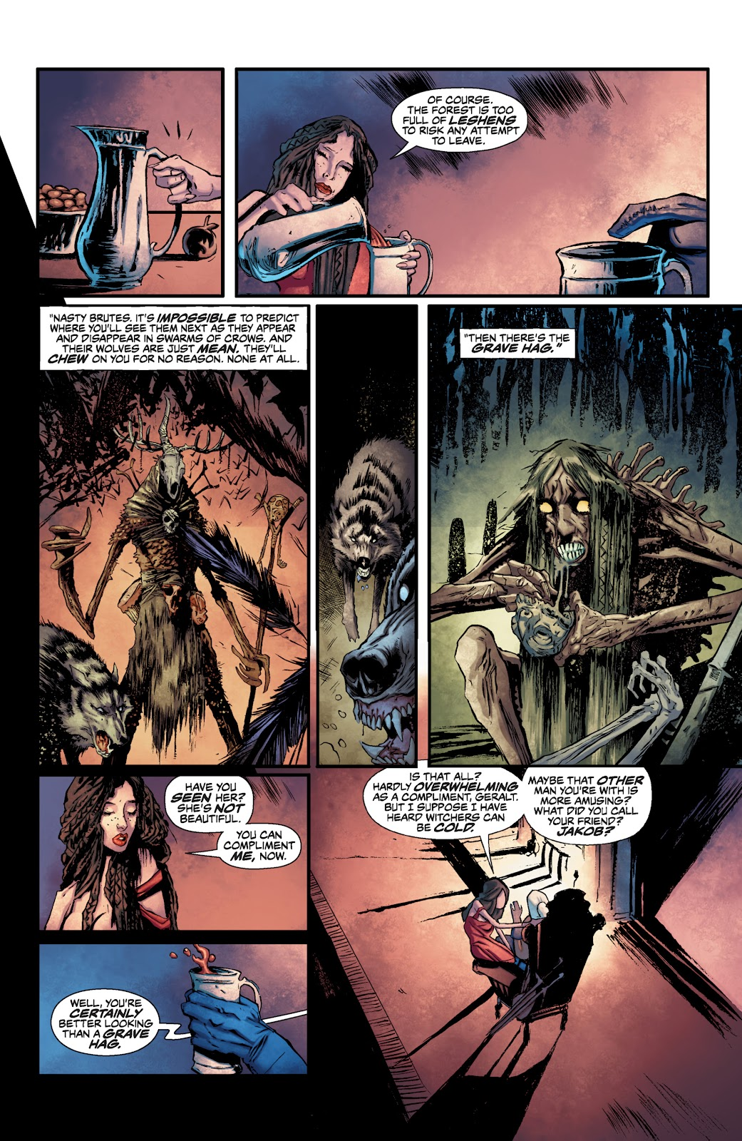 Read online The Witcher Omnibus comic -  Issue # TPB (Part 1) - 46
