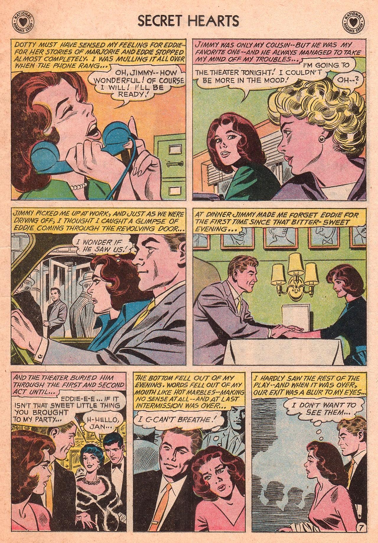 Read online Secret Hearts comic -  Issue #77 - 9