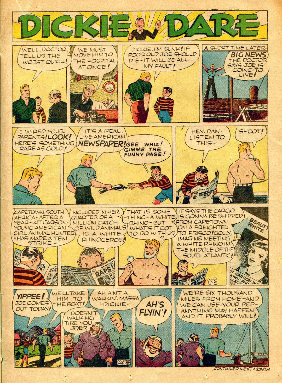 Read online Famous Funnies comic -  Issue #62 - 30