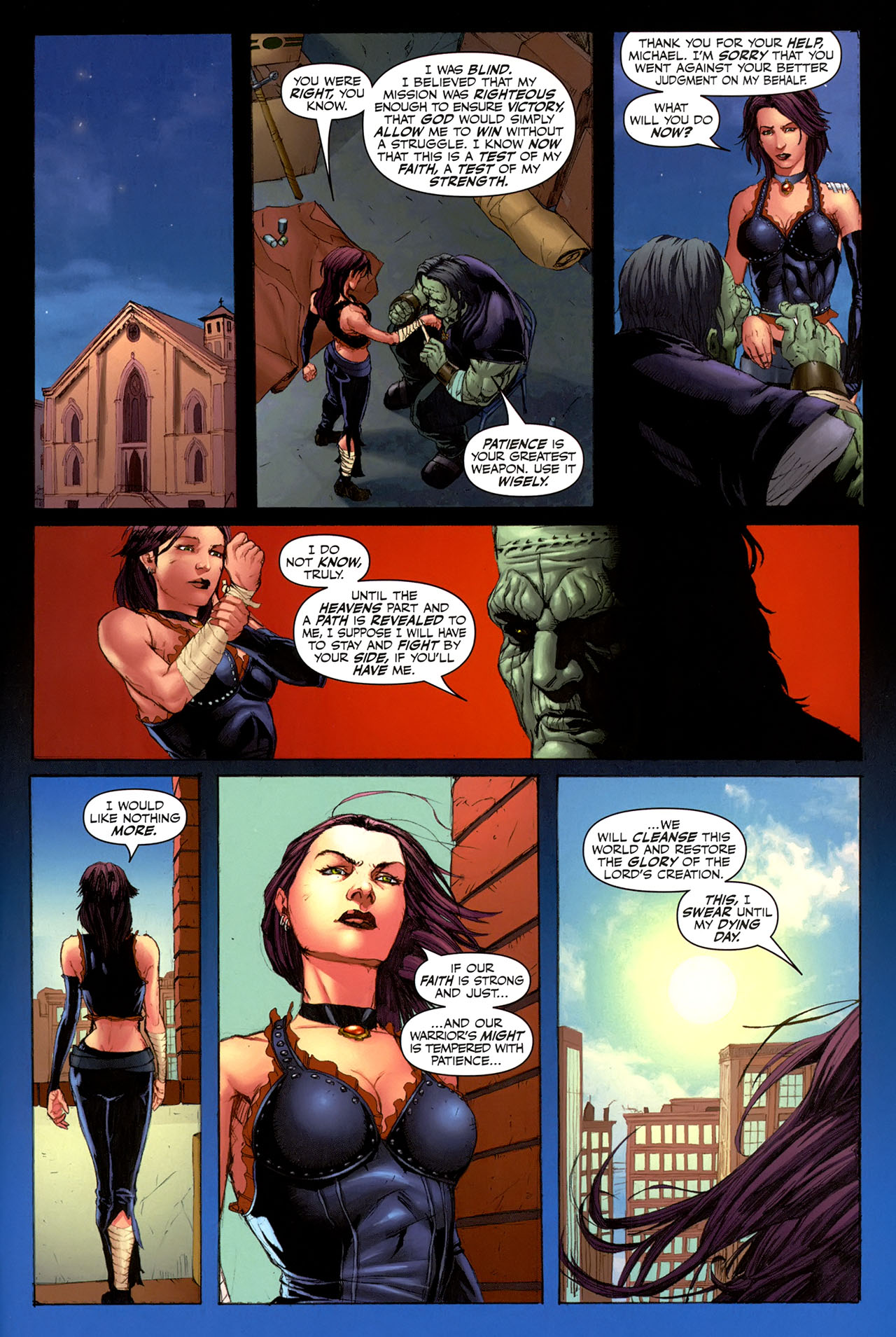 Read online Eva: Daughter of the Dragon comic -  Issue # Full - 33