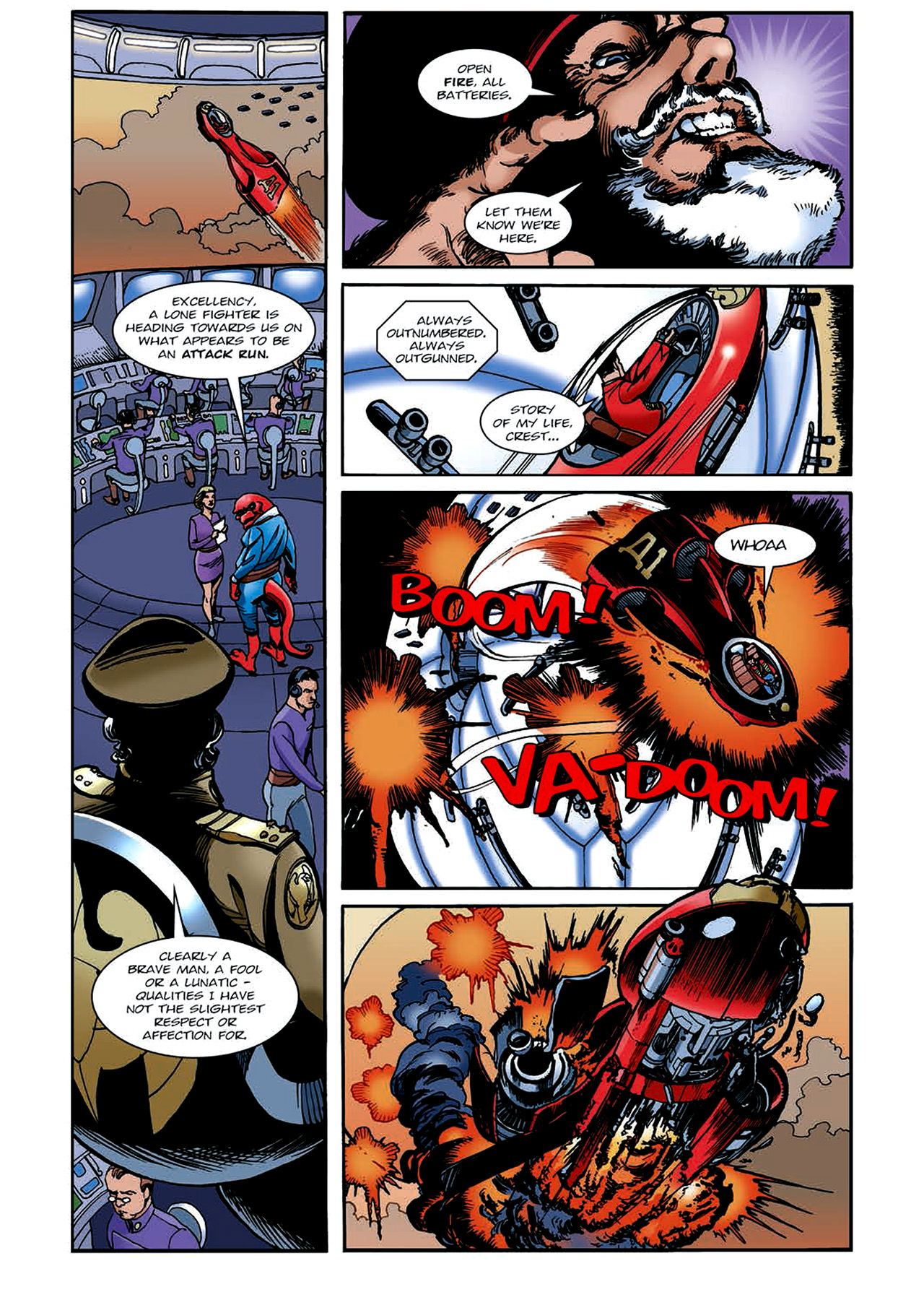 Read online Nikolai Dante comic -  Issue # TPB 4 - 132