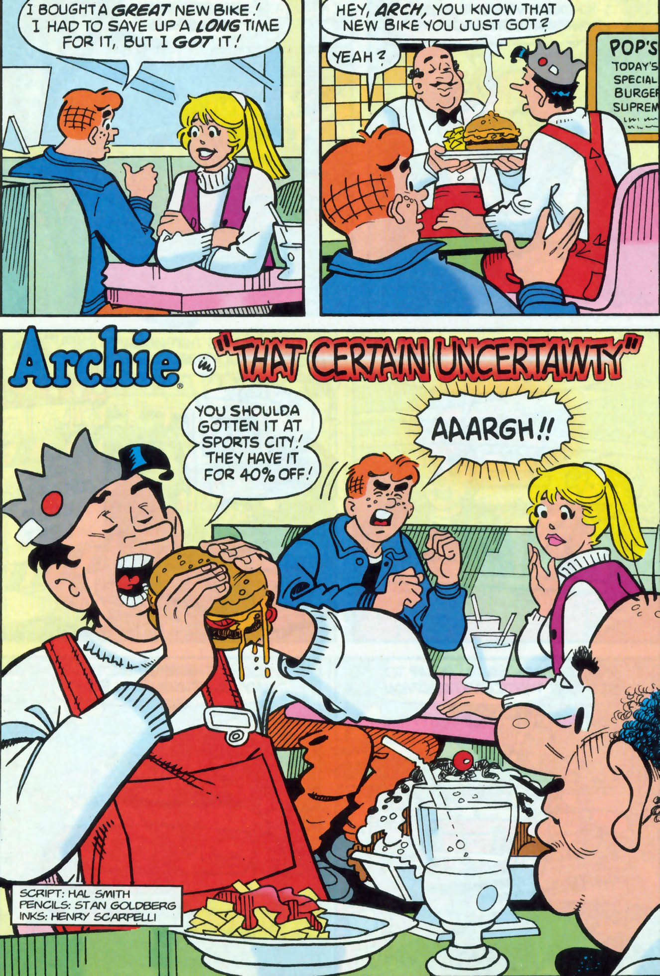 Read online Archie (1960) comic -  Issue #471 - 9