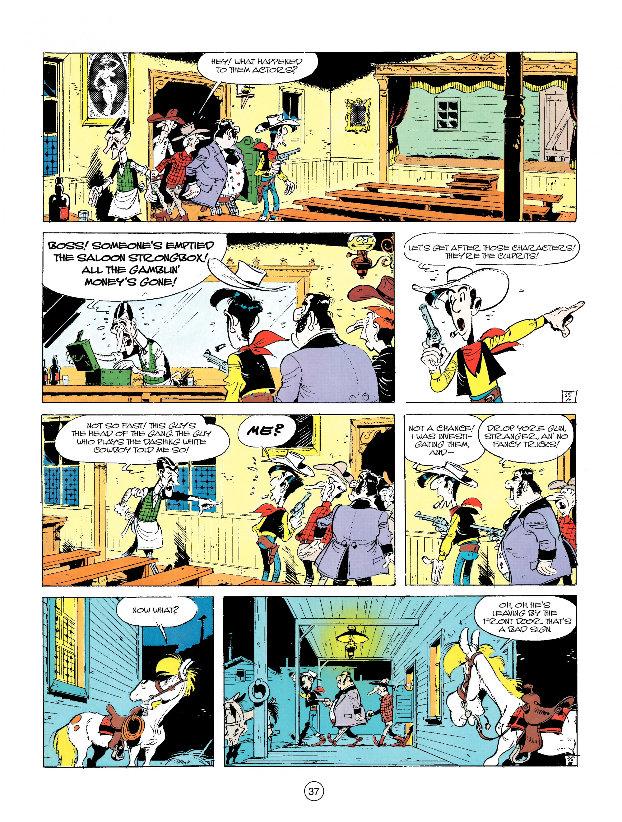 Read online A Lucky Luke Adventure comic -  Issue #14 - 37