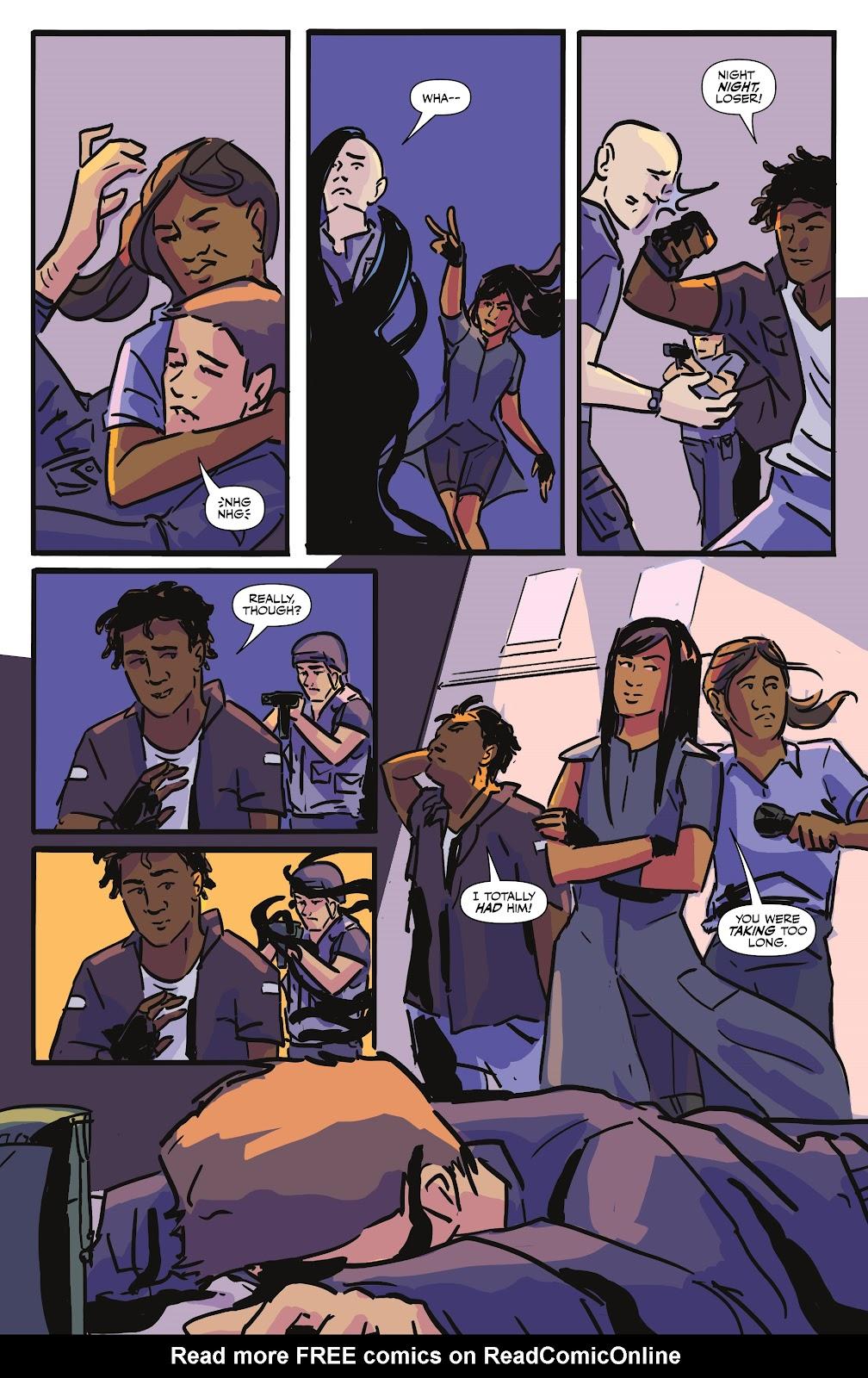 Read online Black (AF): Devil's Dye comic -  Issue #3 - 19