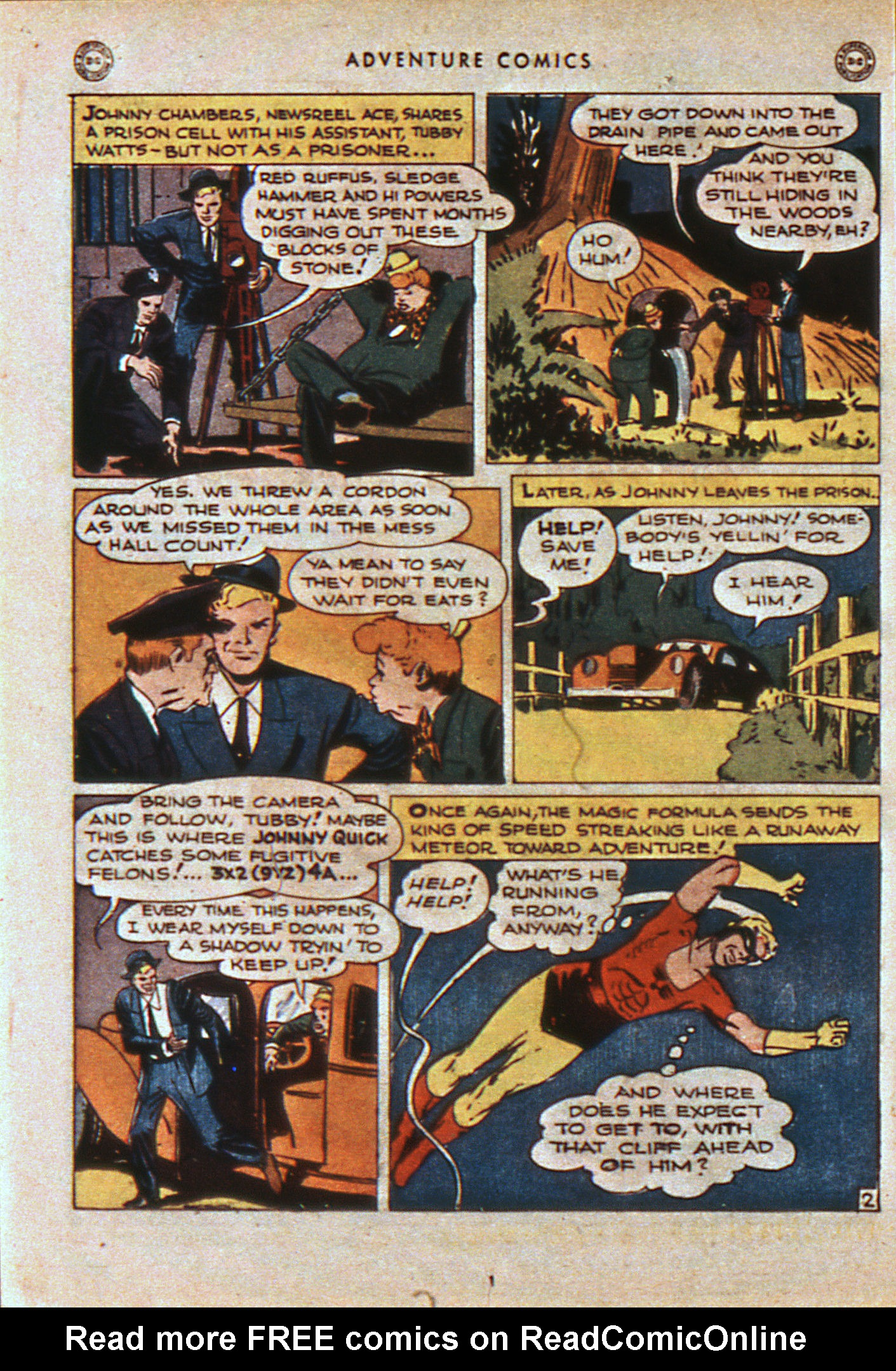 Read online Adventure Comics (1938) comic -  Issue #108 - 21