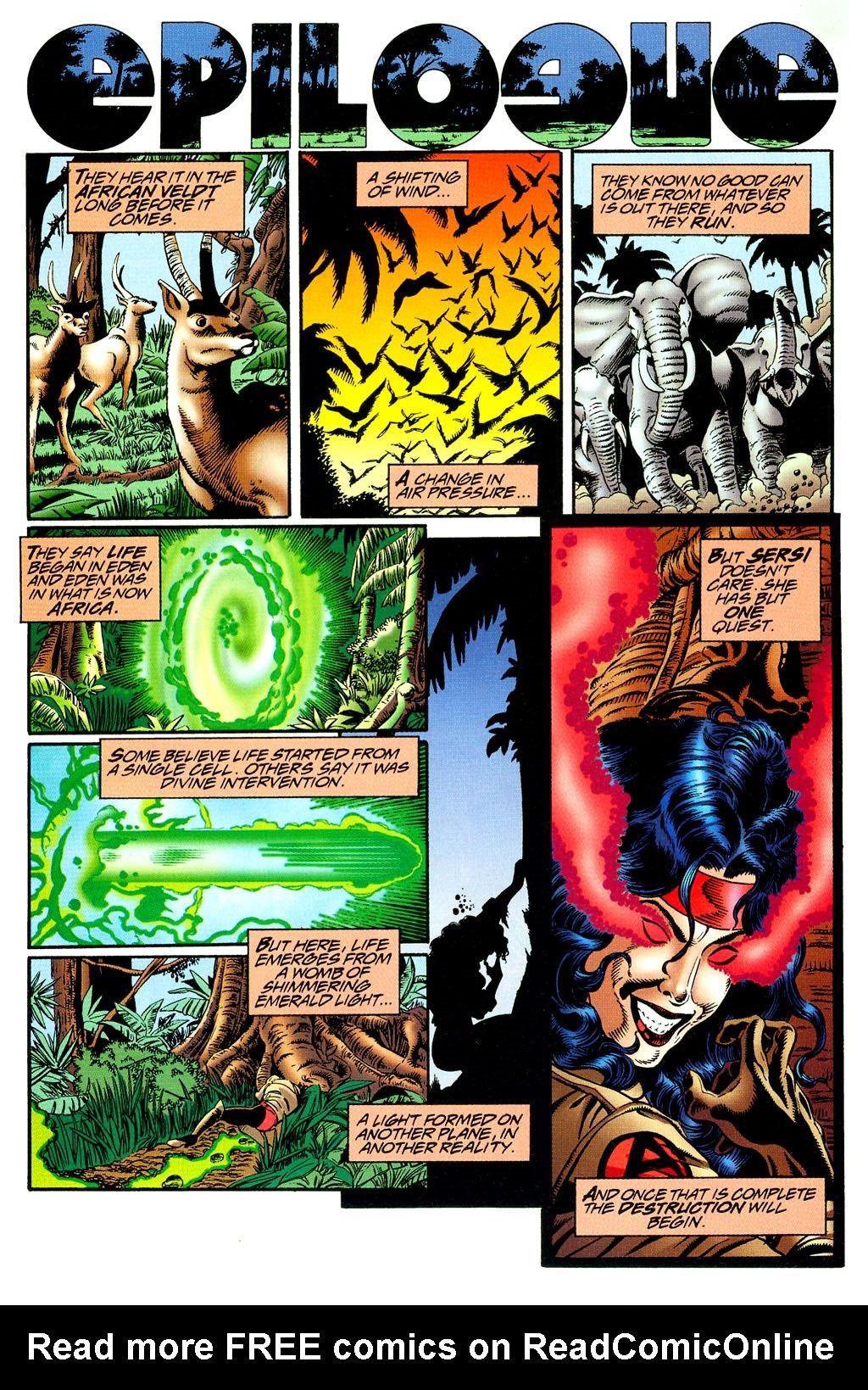 Read online UltraForce (1994) comic -  Issue #8 - 22