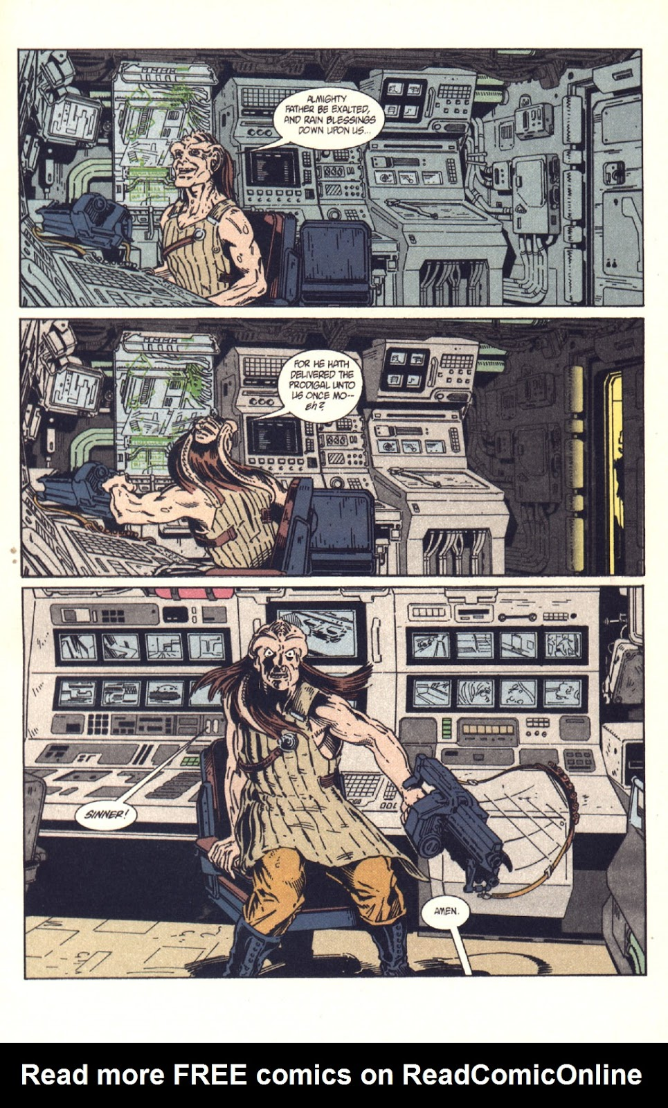 Read online Aliens: Colonial Marines comic -  Issue #9 - 16