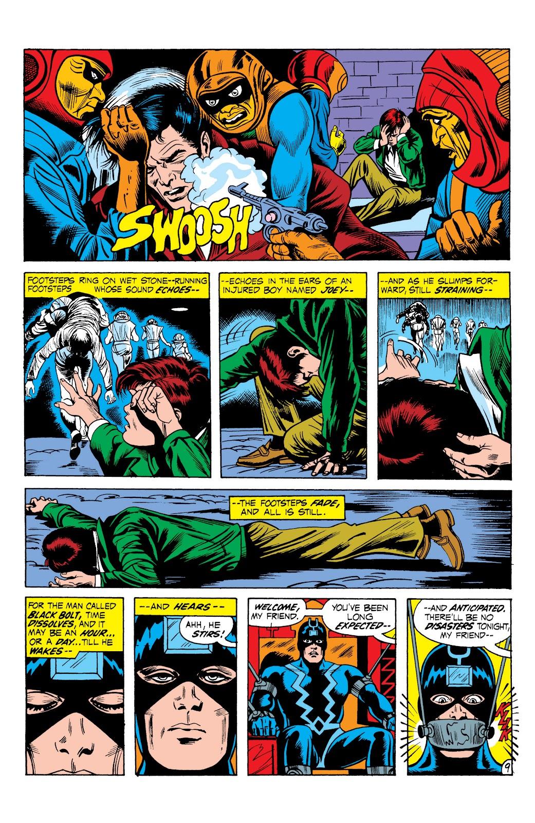 Read online Marvel Masterworks: The Inhumans comic -  Issue # TPB 1 (Part 2) - 66