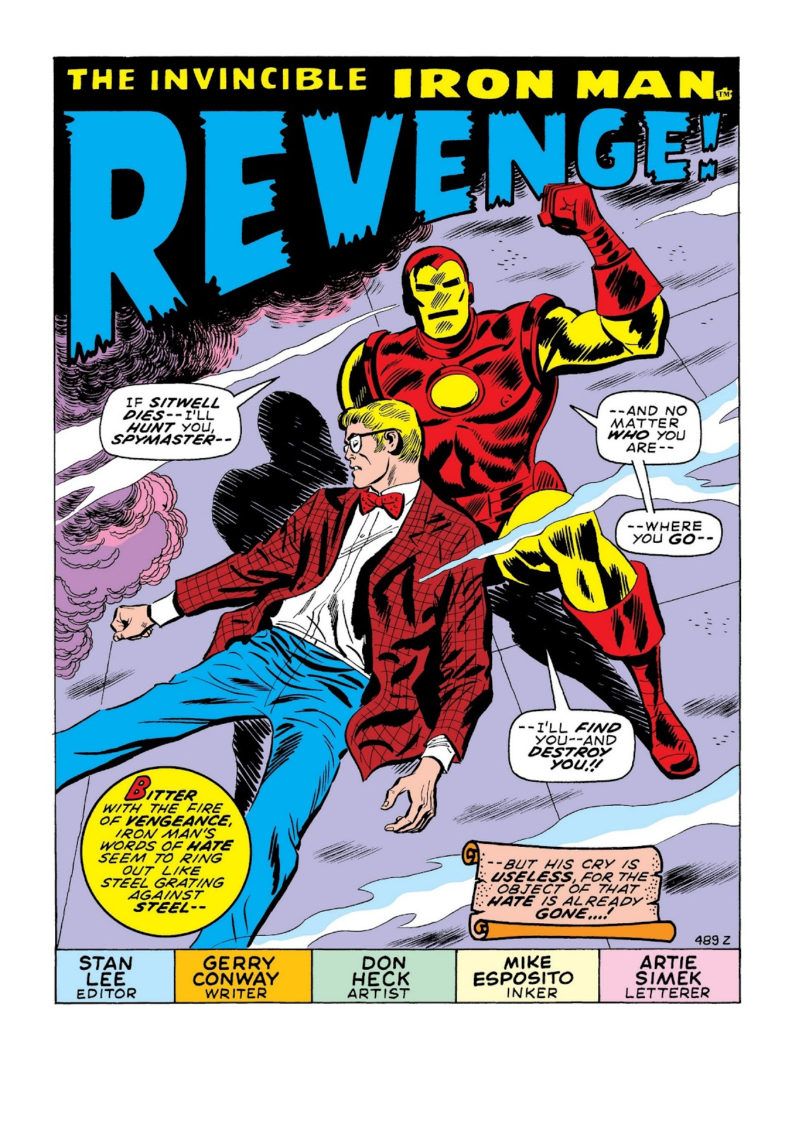 Read online Marvel Masterworks: The Invincible Iron Man comic -  Issue # TPB 7 (Part 2) - 90