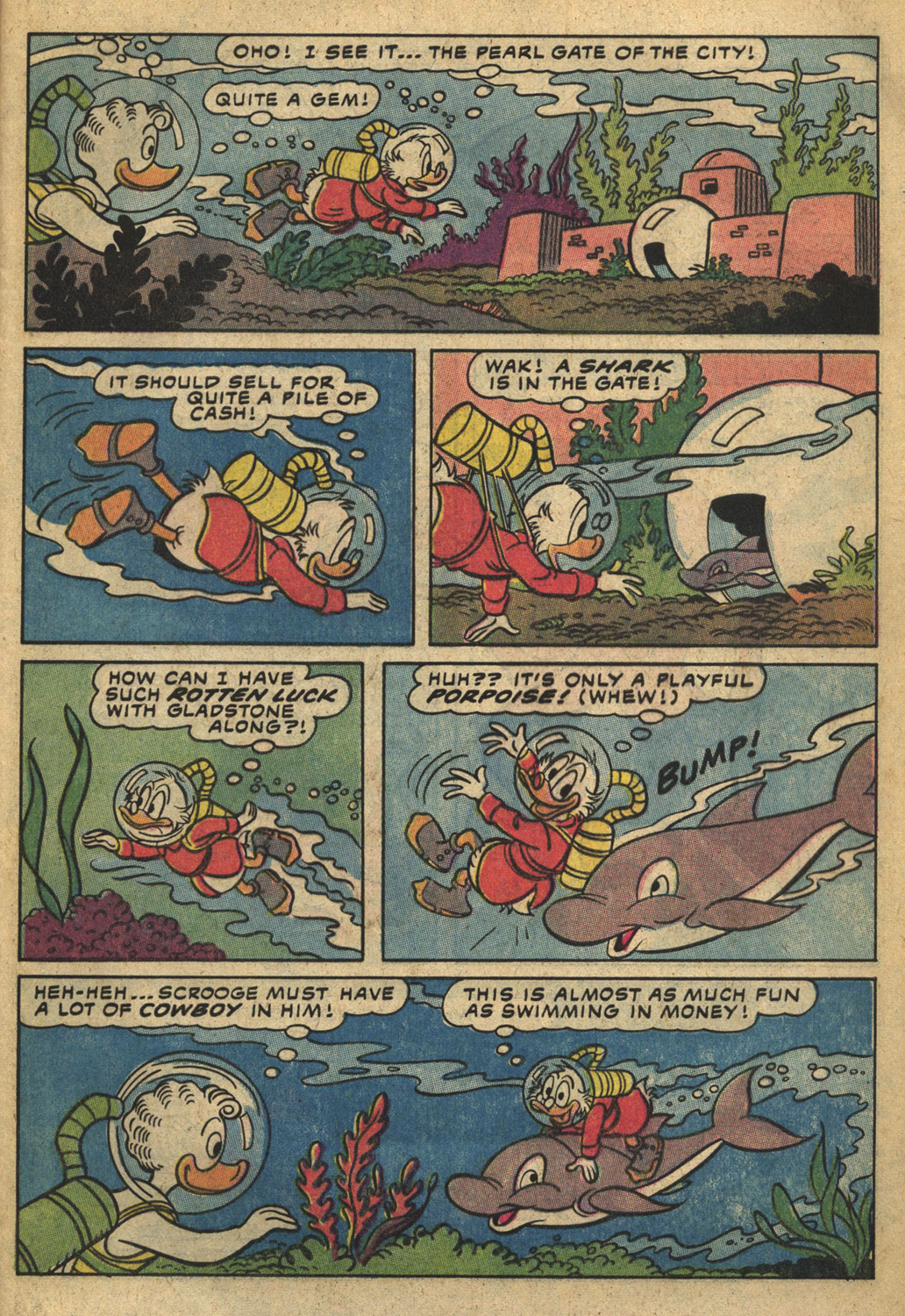 Read online Uncle Scrooge (1953) comic -  Issue #193 - 9