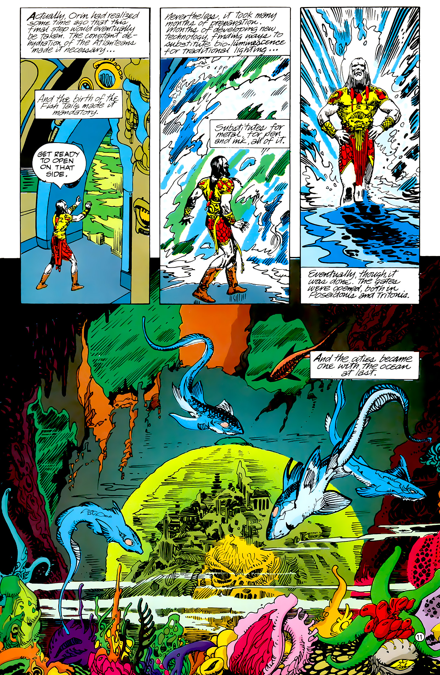 Read online Atlantis Chronicles comic -  Issue #4 - 11