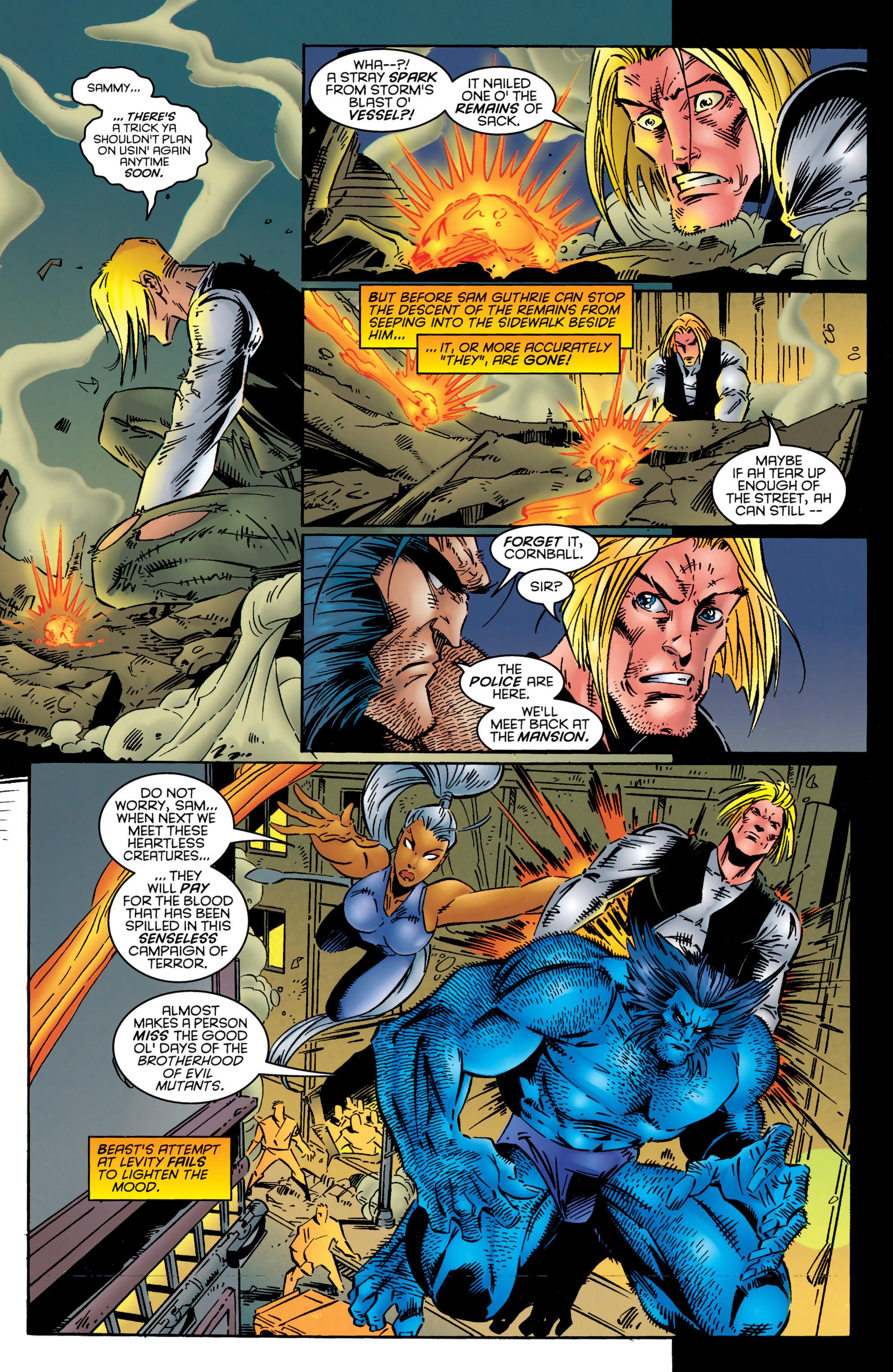 Read online Uncanny X-Men (1963) comic -  Issue #324 - 21