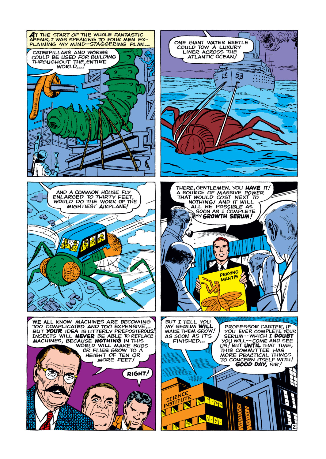 Tales to Astonish (1959) issue 14 - Page 3