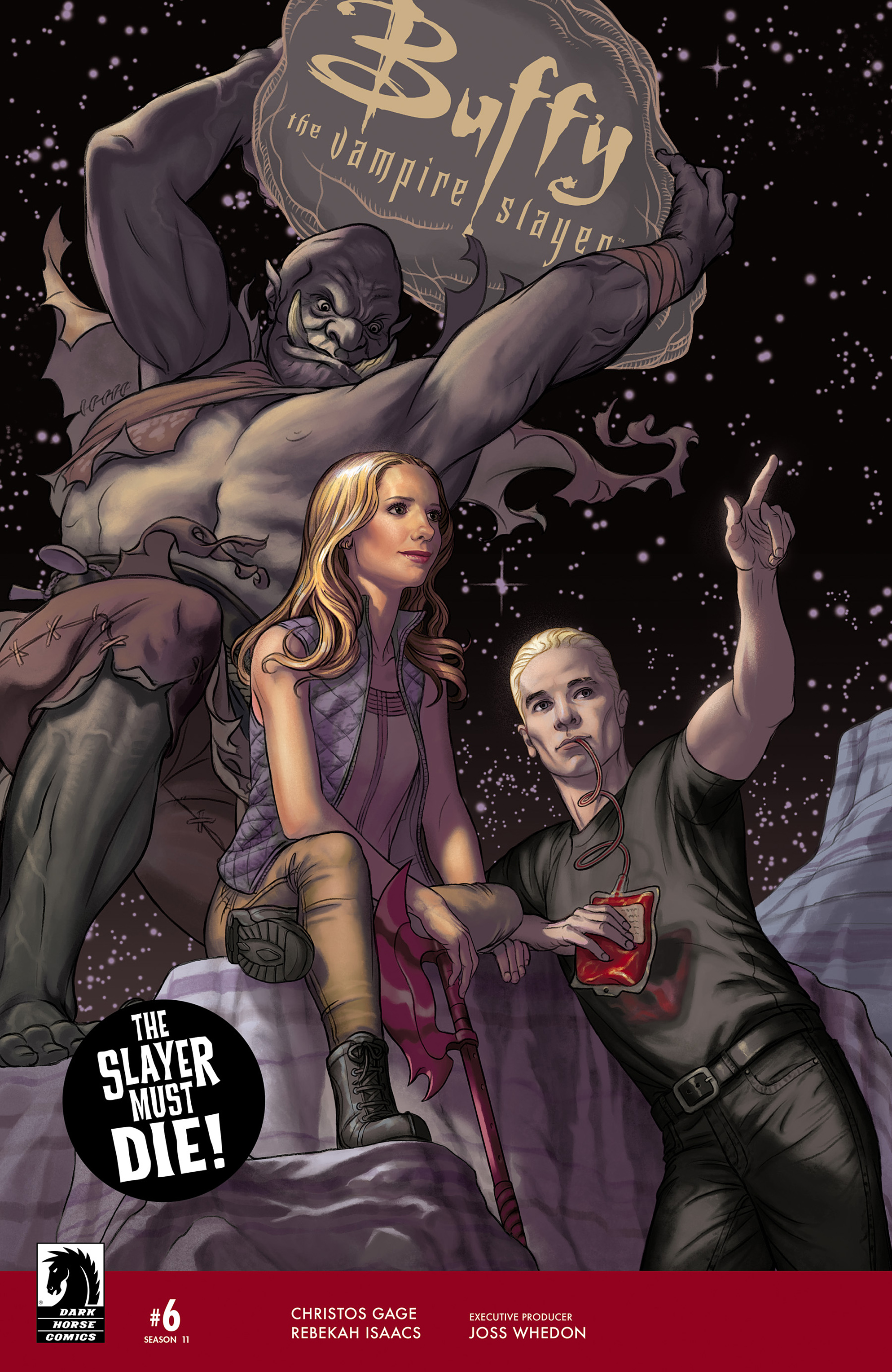 Read online Buffy the Vampire Slayer Season 11 comic -  Issue #6 - 1
