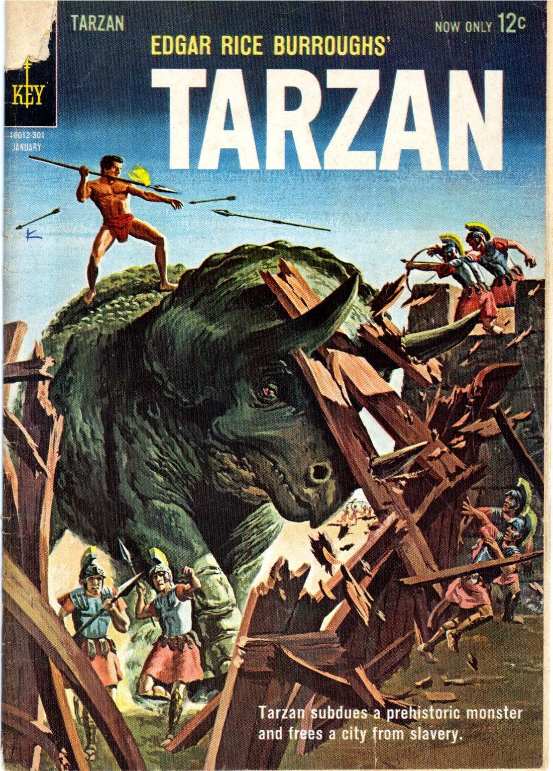 Tarzan (1962) issue 133 - Page 1