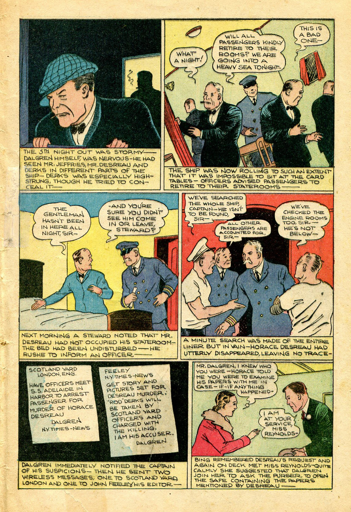 Read online Shadow Comics comic -  Issue #51 - 50