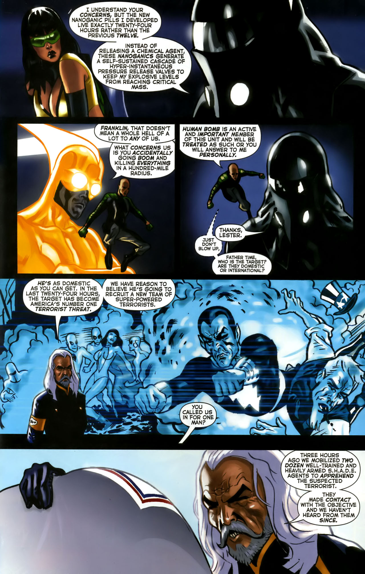 Read online Uncle Sam and the Freedom Fighters (2006) comic -  Issue #1 - 21