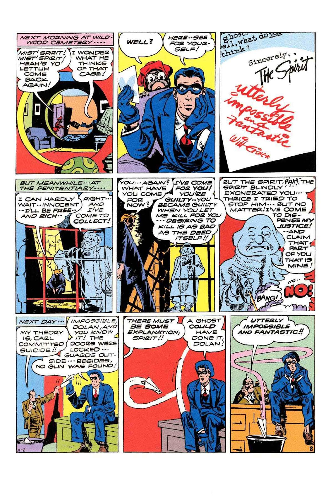 Read online Will Eisner's The Spirit Archives comic -  Issue # TPB 3 (Part 2) - 53