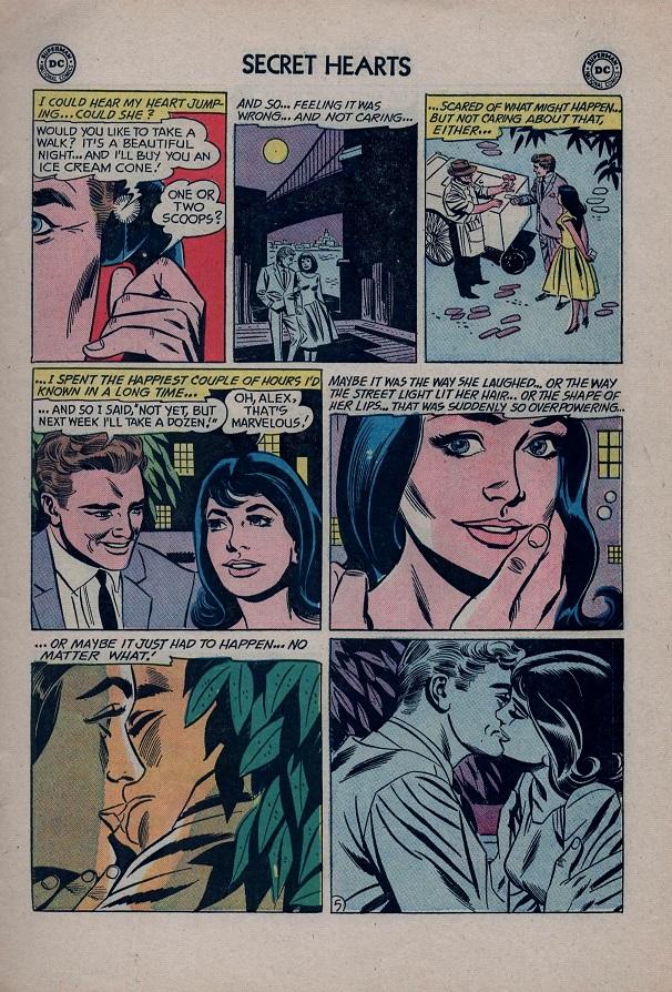 Read online Secret Hearts comic -  Issue #79 - 7
