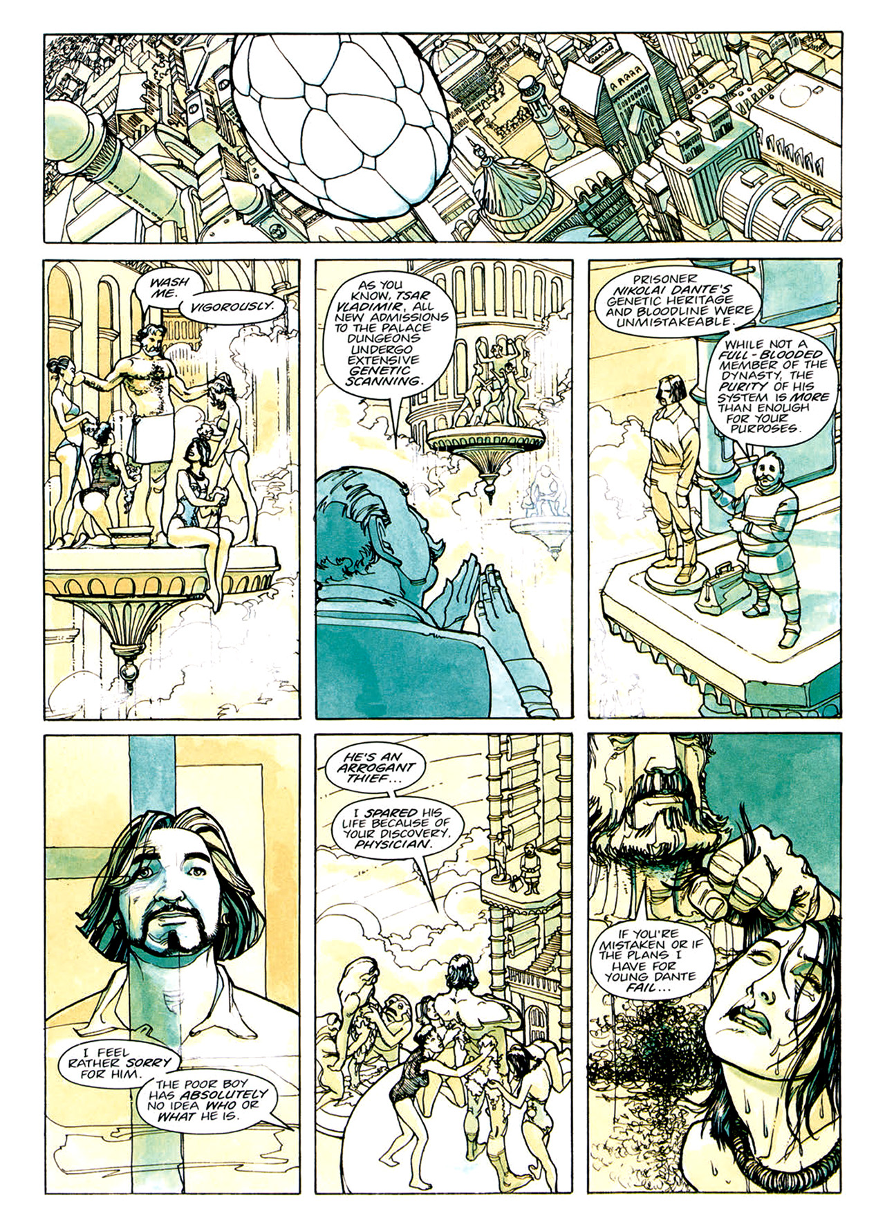 Read online Nikolai Dante comic -  Issue # TPB 1 - 17
