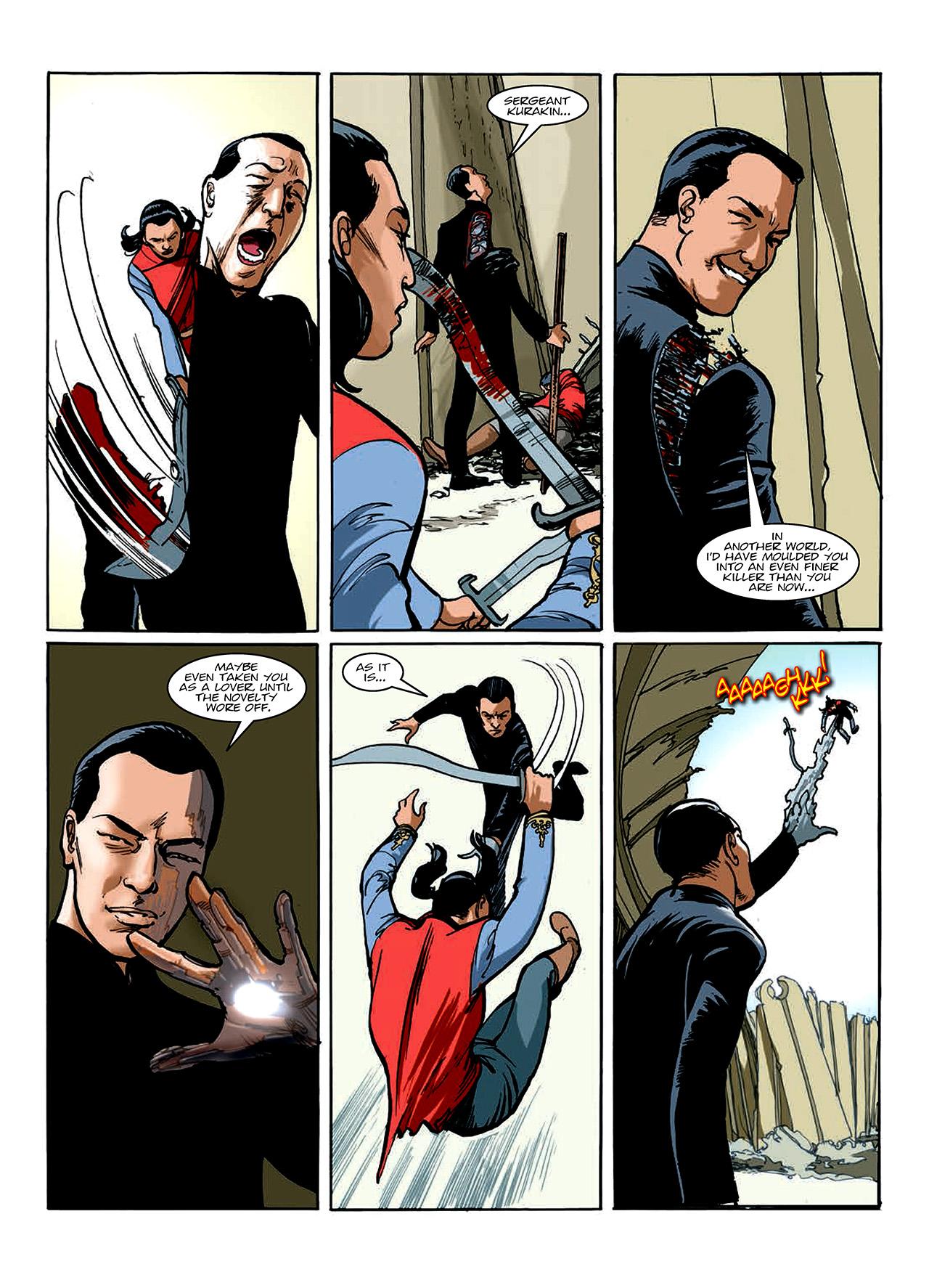 Read online Nikolai Dante comic -  Issue # TPB 10 - 97