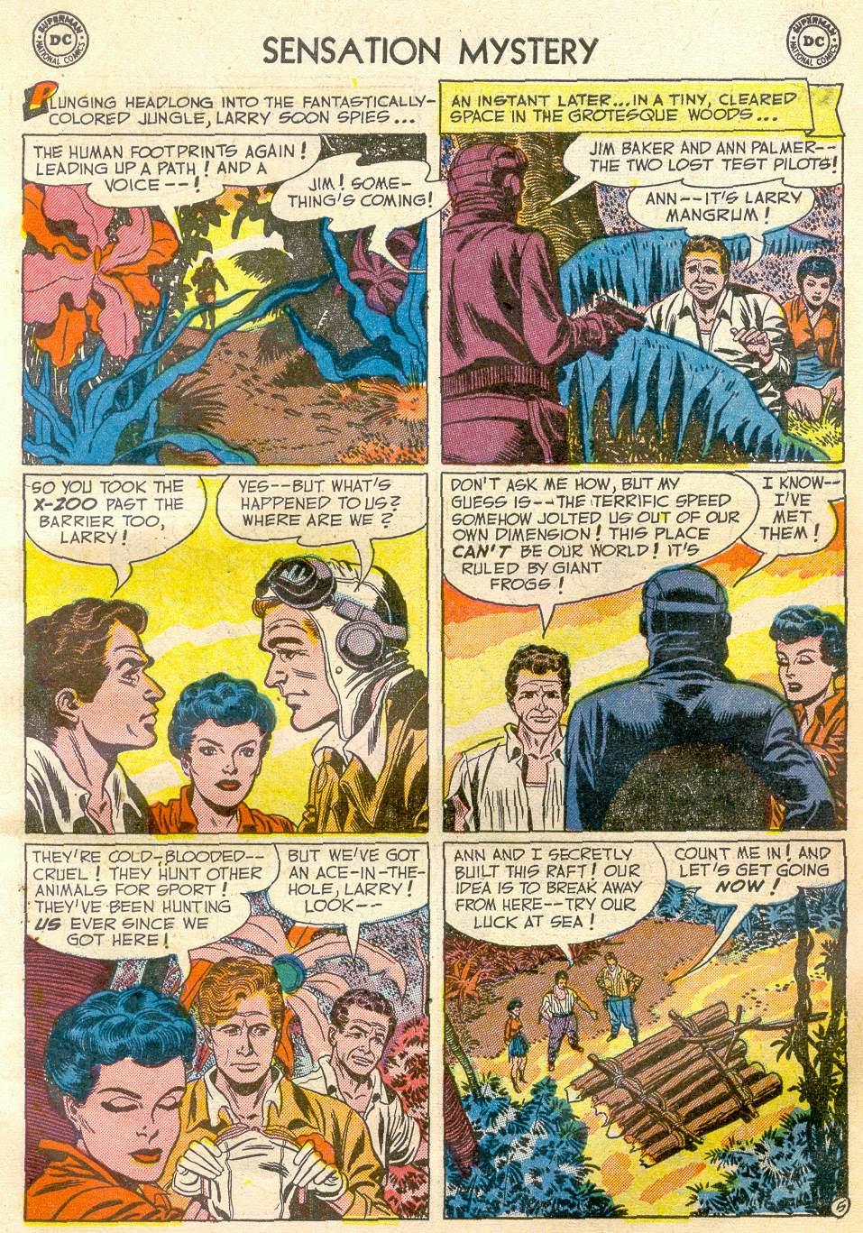 Read online Sensation (Mystery) Comics comic -  Issue #110 - 7