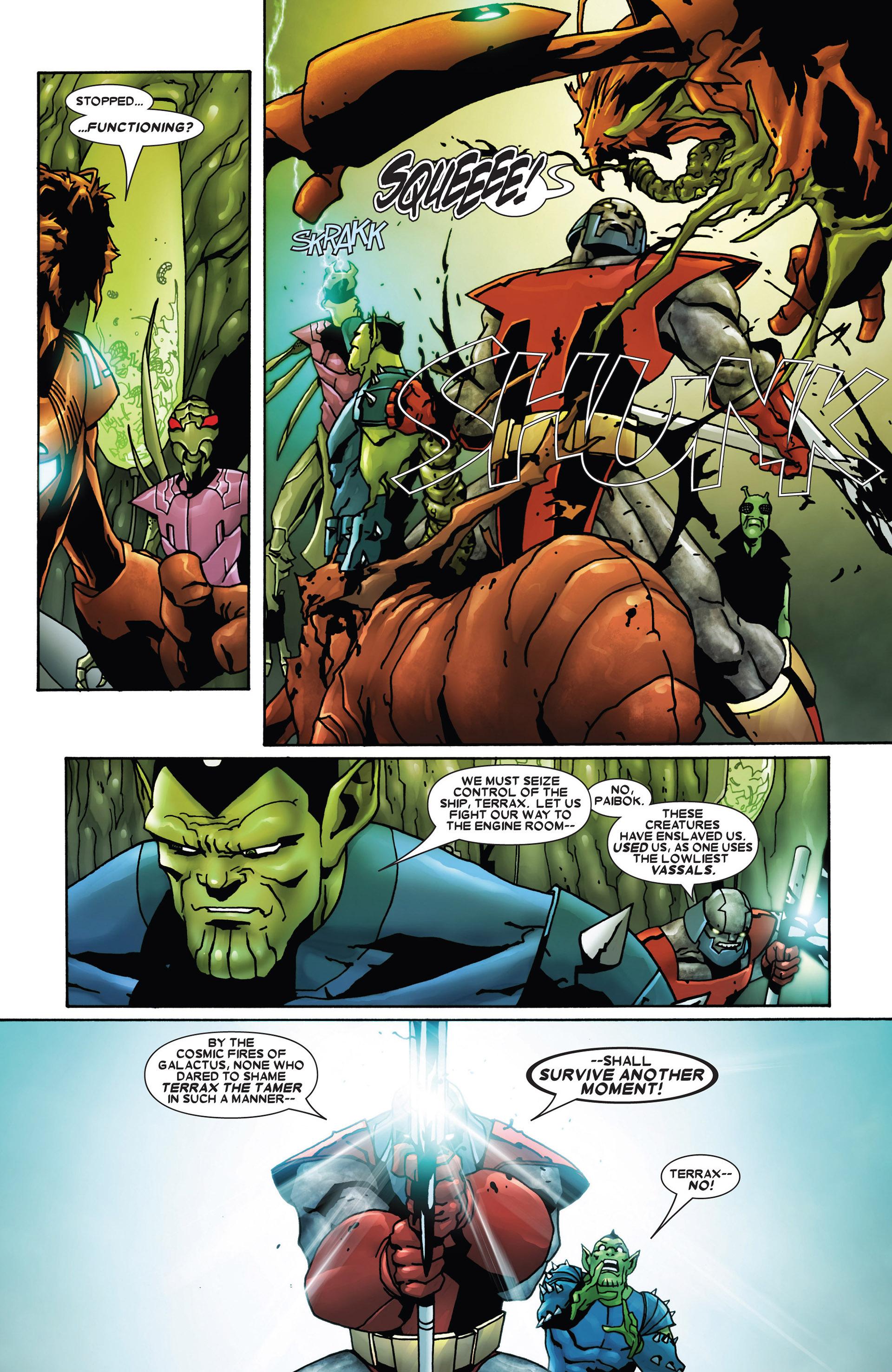 Read online Annihilation: Heralds Of Galactus comic -  Issue #1 - 3
