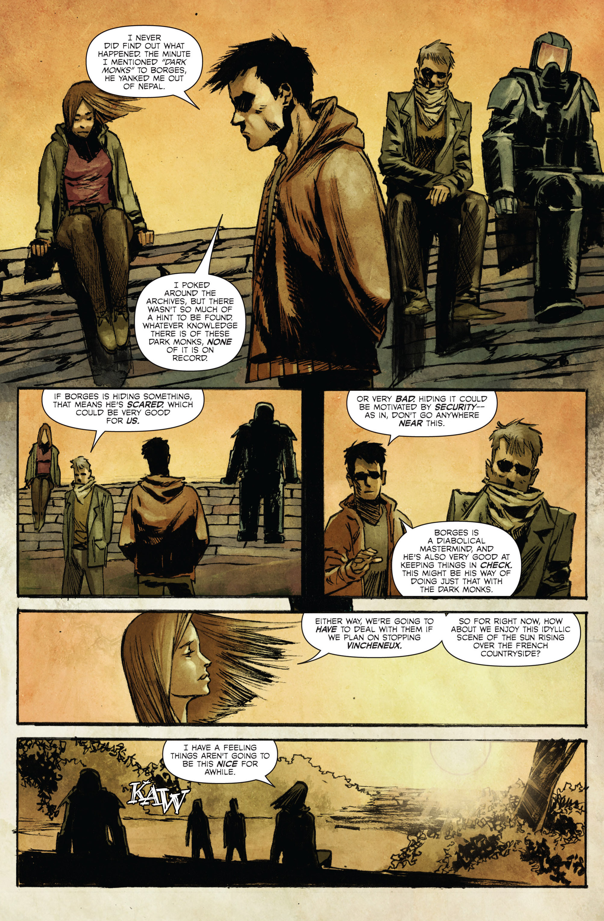 Read online Hoax Hunters (2015) comic -  Issue #3 - 7