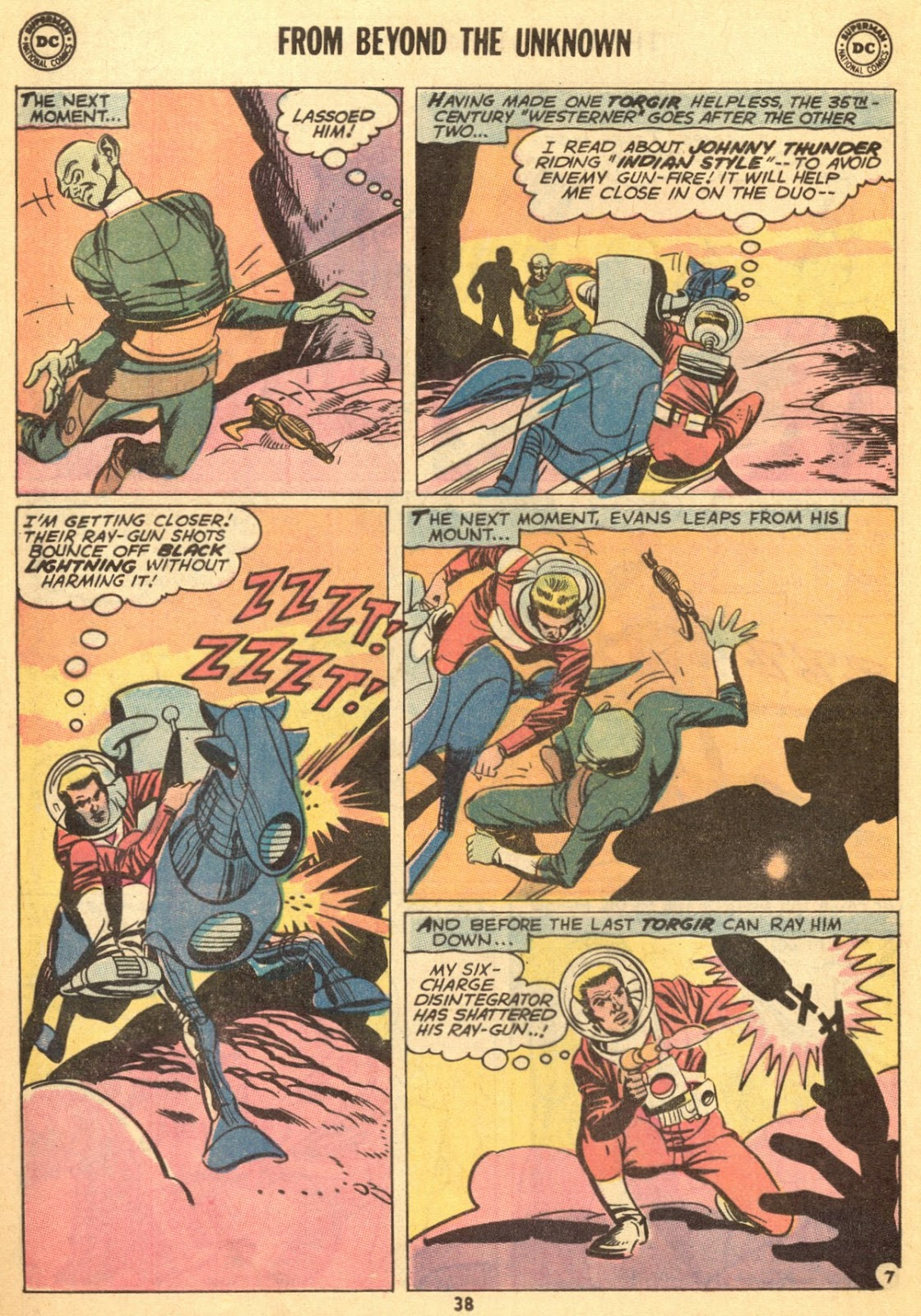 From Beyond the Unknown (1969) issue 9 - Page 40