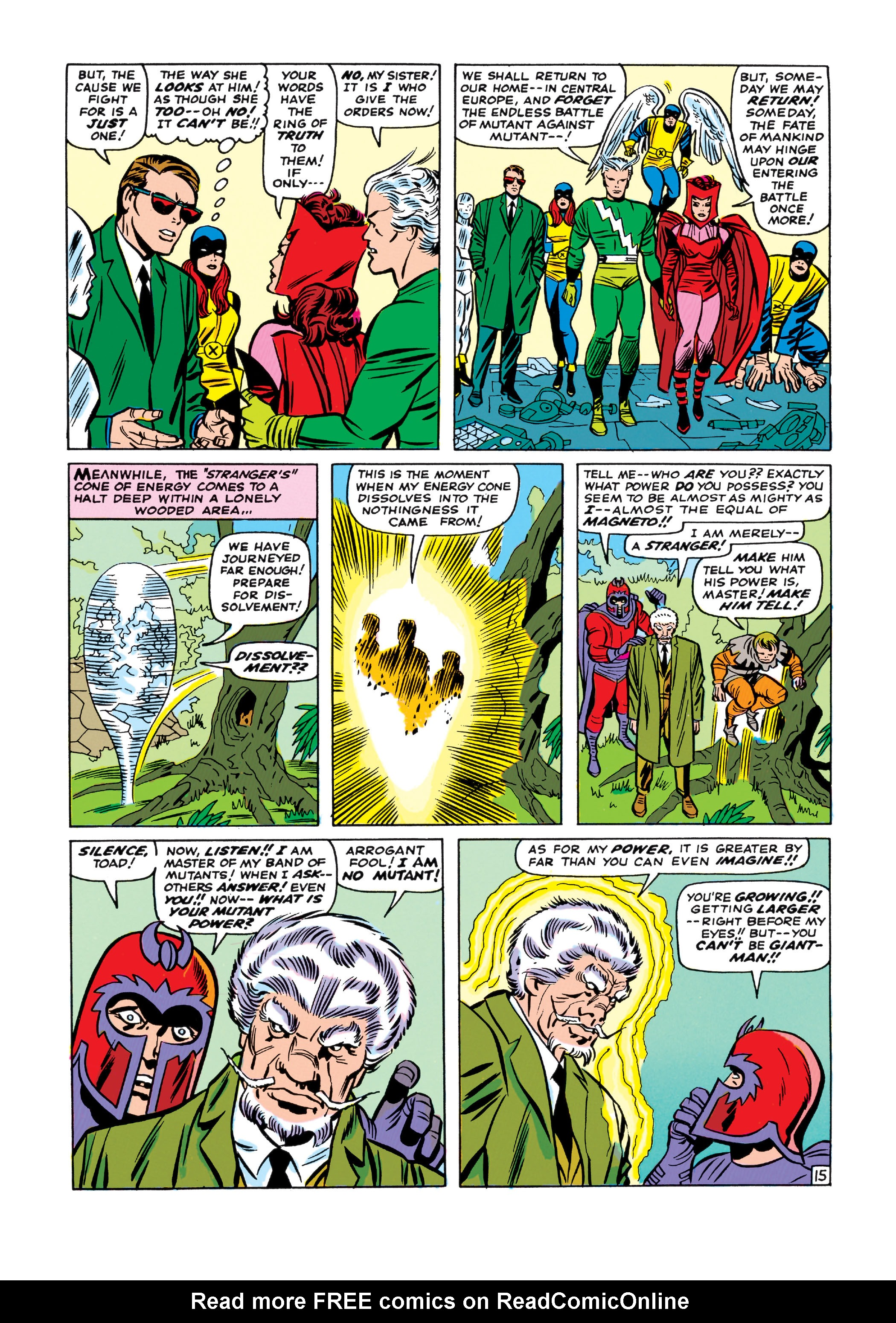 Read online Uncanny X-Men (1963) comic -  Issue #11 - 16