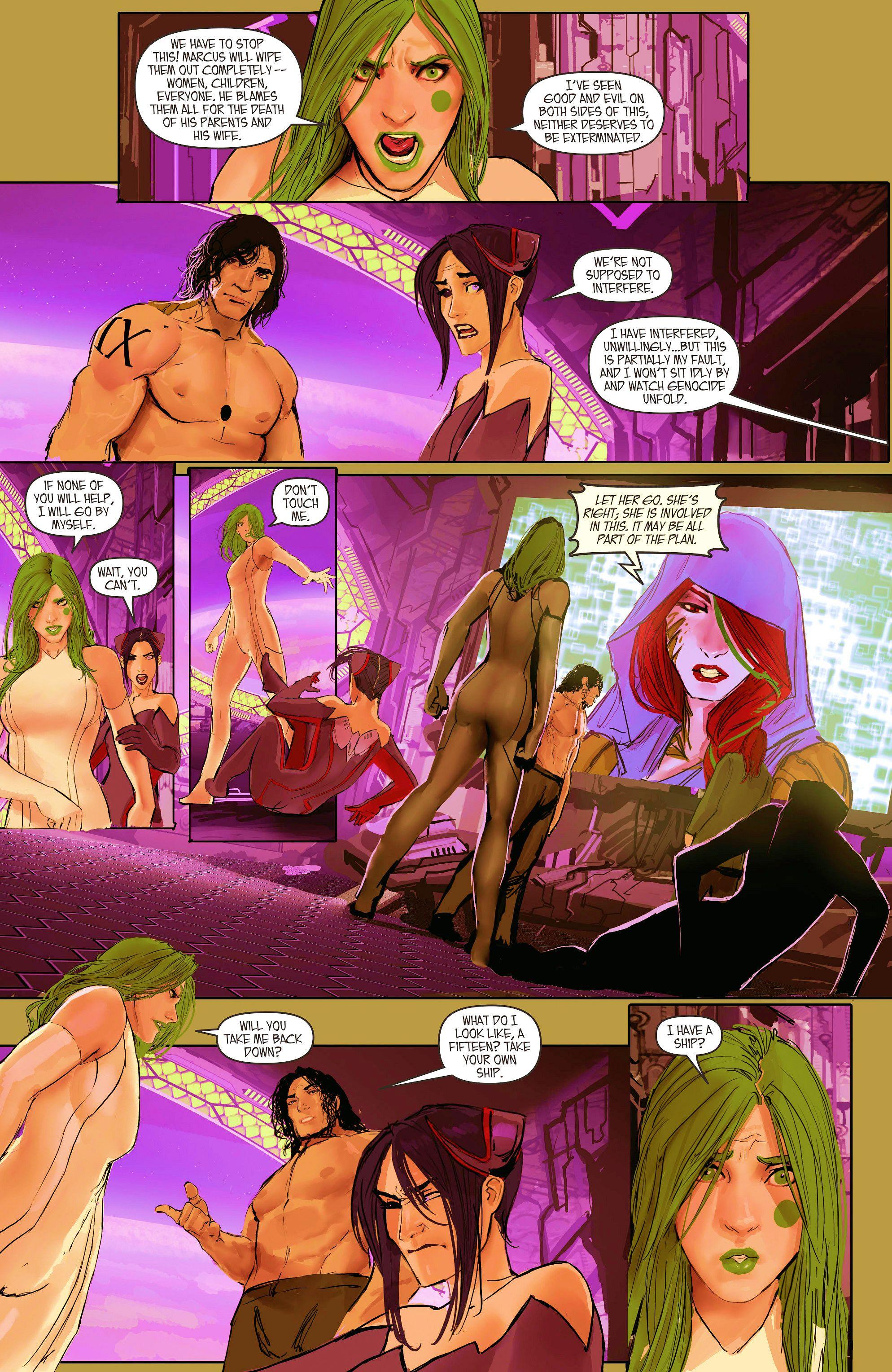 Read online Aphrodite IX (2013) comic -  Issue #11 - 12