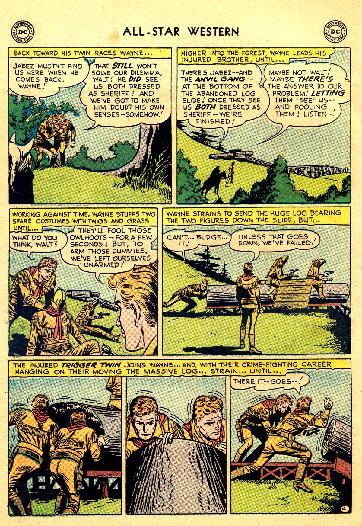 Read online All-Star Western (1951) comic -  Issue #93 - 6