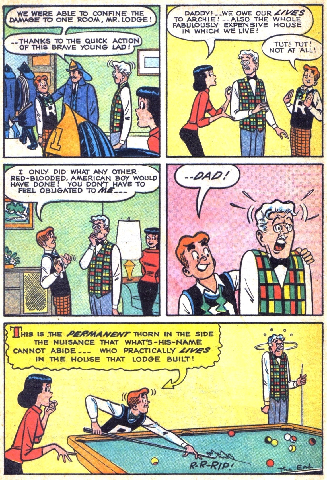 Read online Archie (1960) comic -  Issue #138 - 8