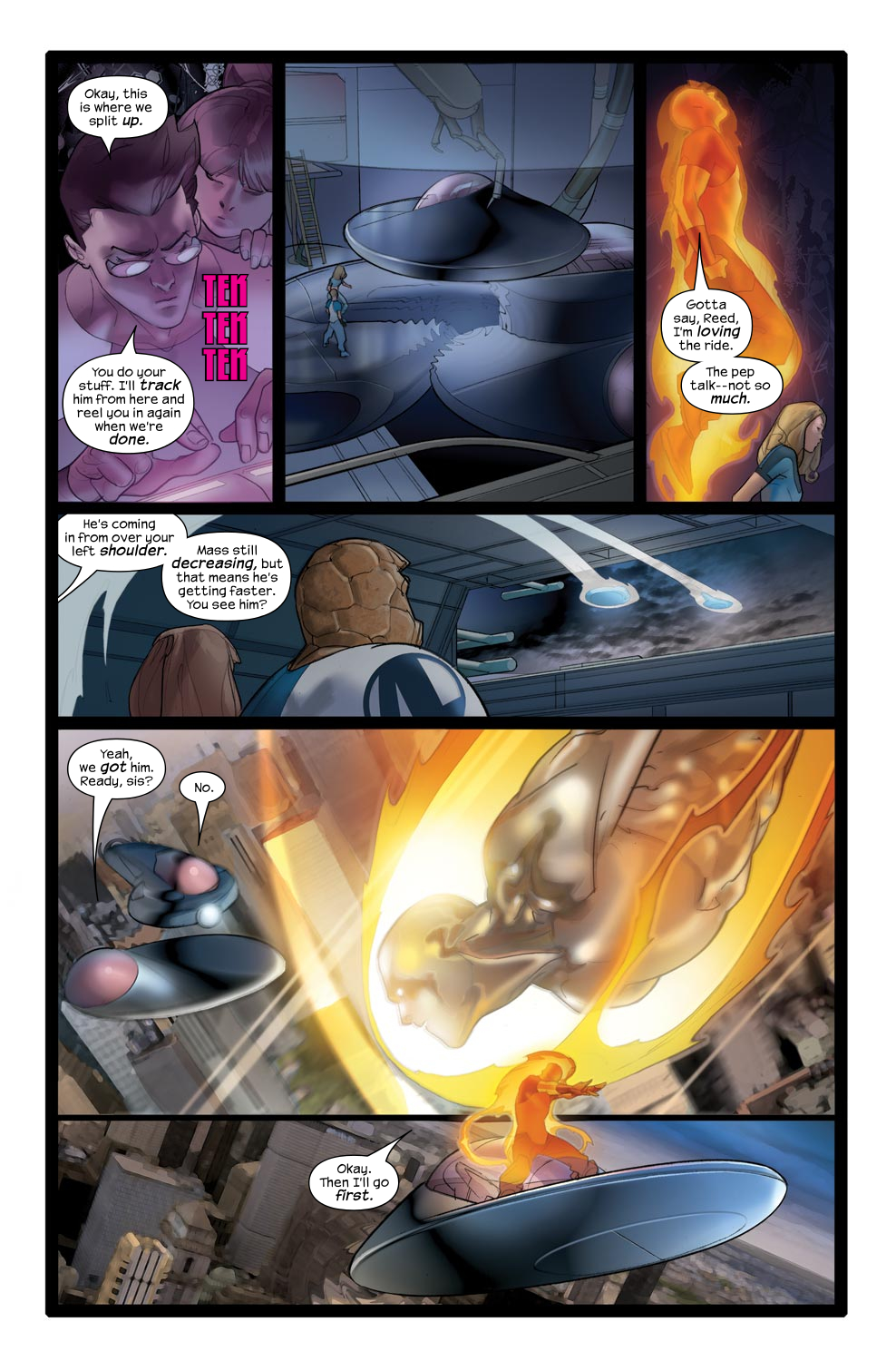 Read online Ultimate Fantastic Four (2004) comic -  Issue #43 - 9