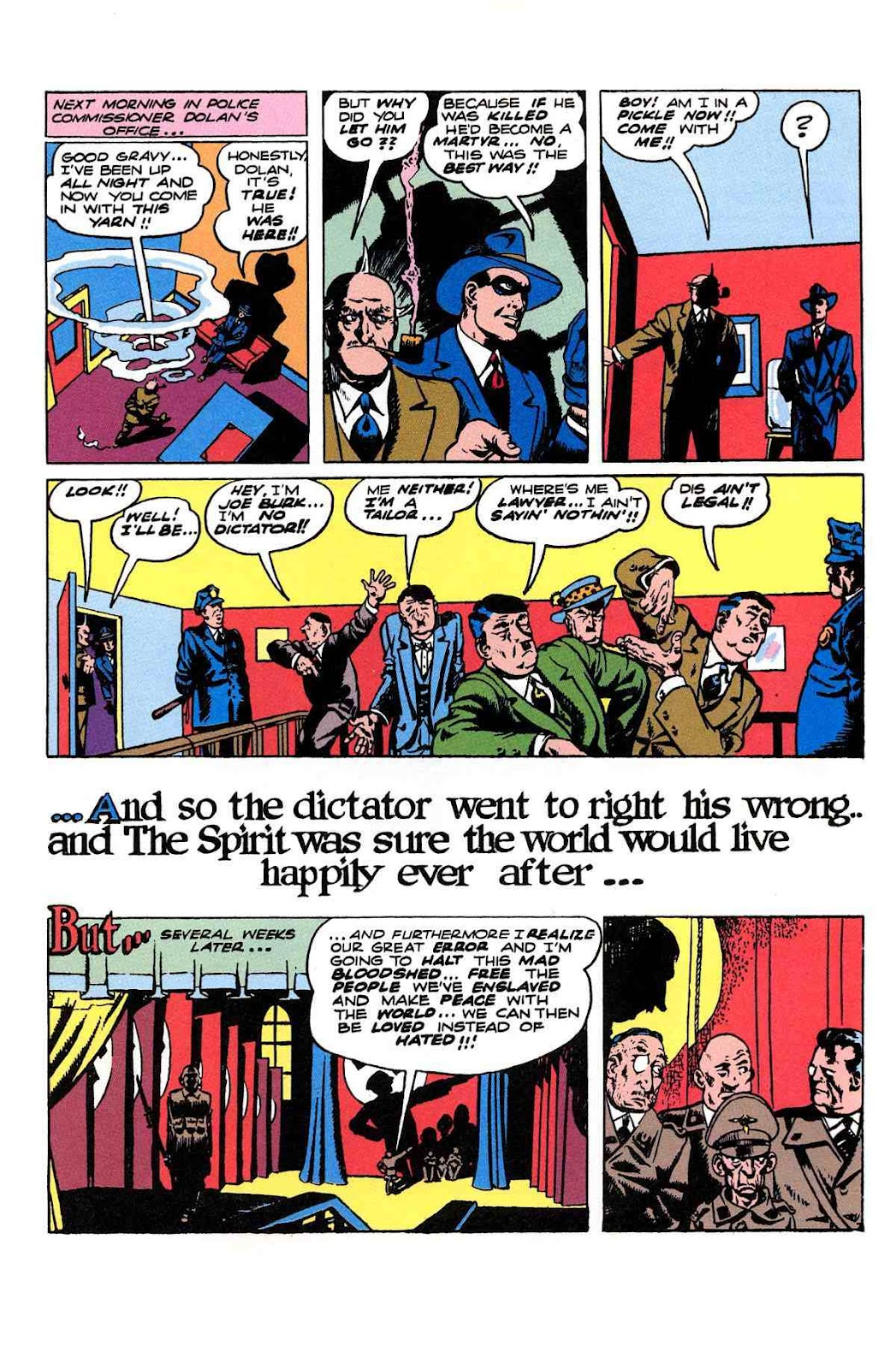 Read online Will Eisner's The Spirit Archives comic -  Issue # TPB 2 (Part 2) - 99