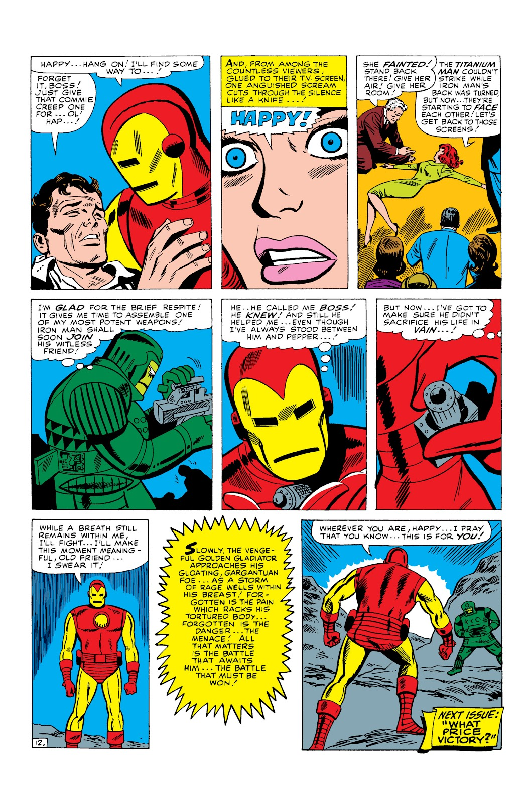 Read online Marvel Masterworks: The Invincible Iron Man comic -  Issue # TPB 3 (Part 2) - 7