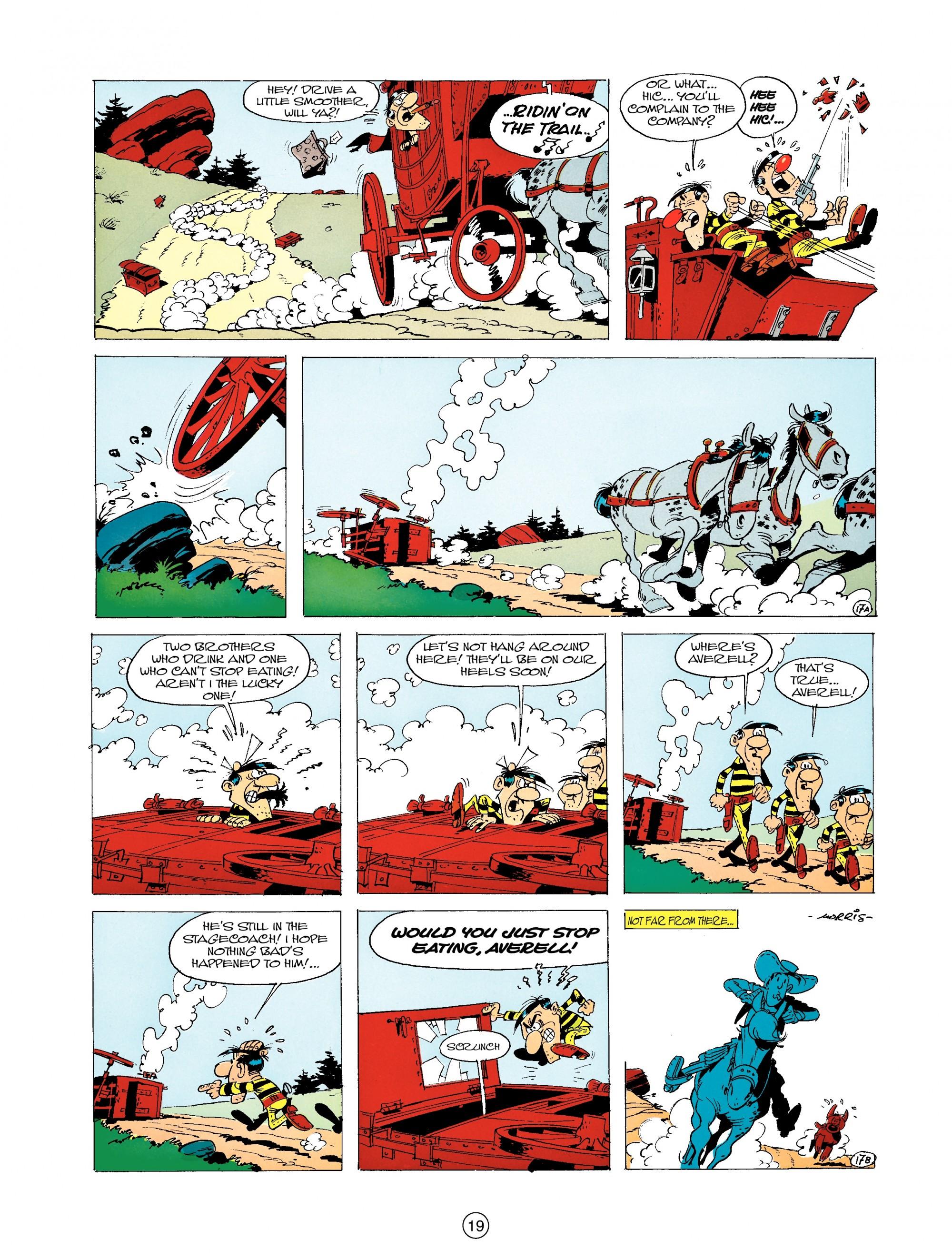 Read online A Lucky Luke Adventure comic -  Issue #19 - 19