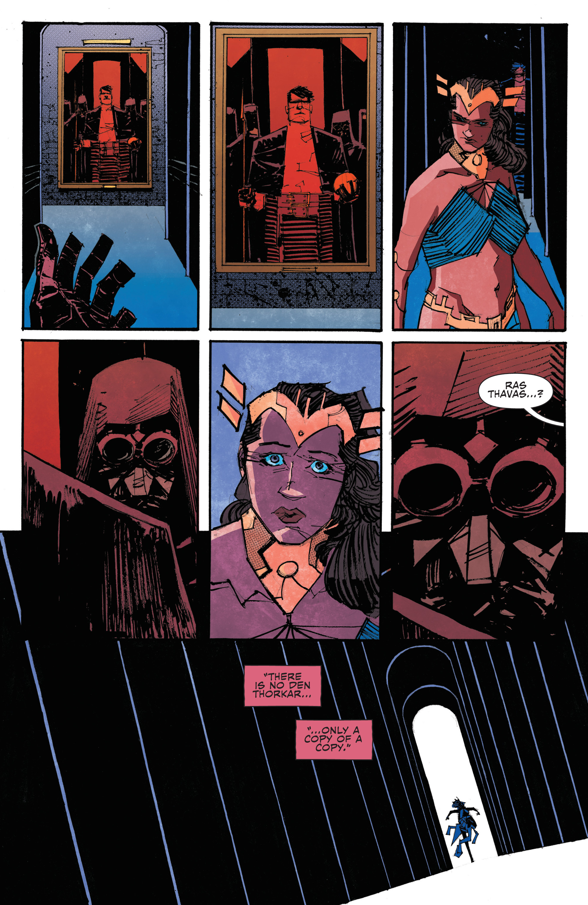 Read online John Carter: The End comic -  Issue #4 - 14
